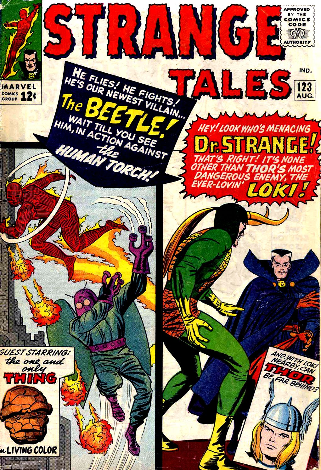 Strange Tales (1951) 123 Page 1