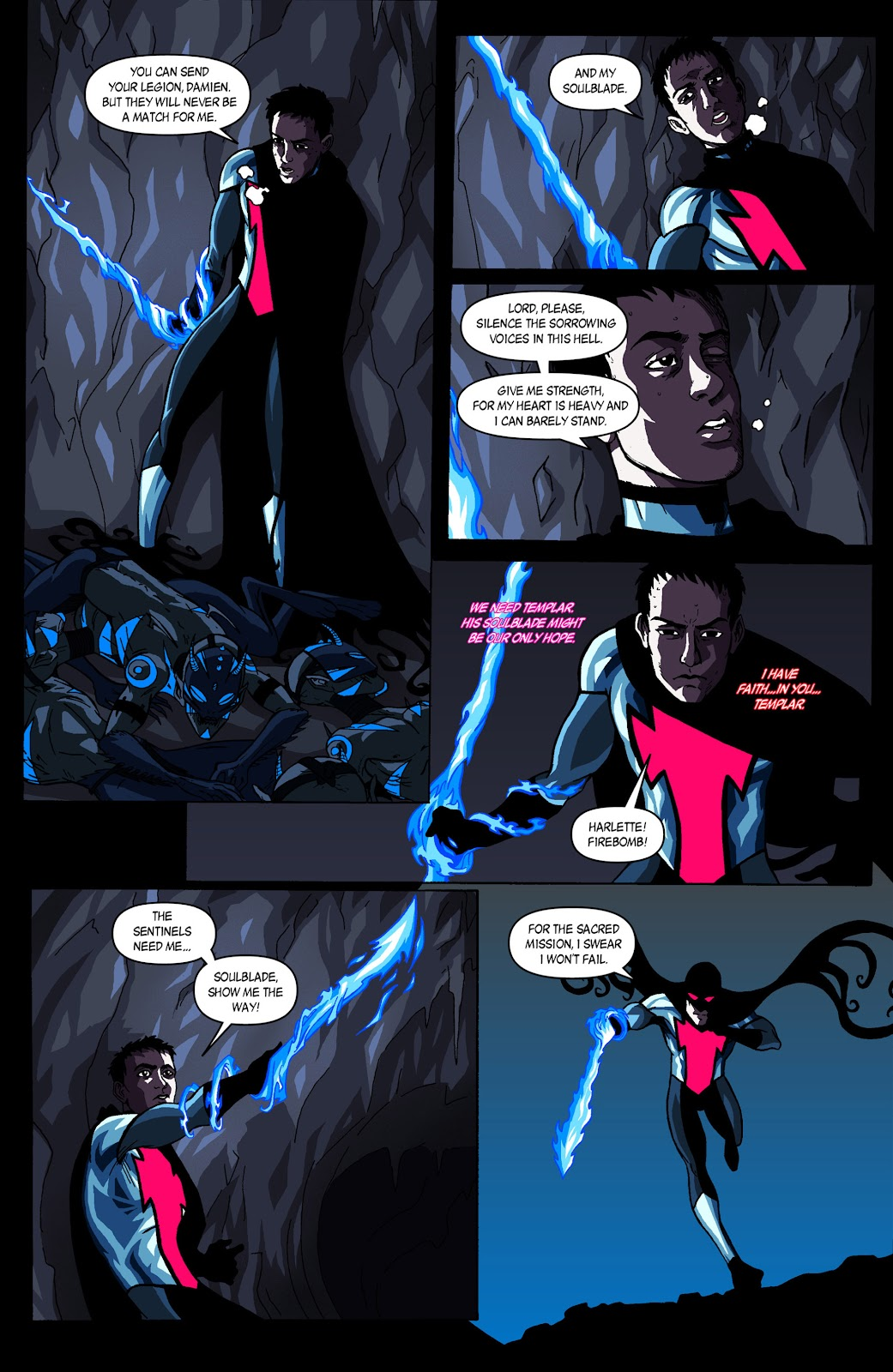Sentinels issue 3 - Page 7