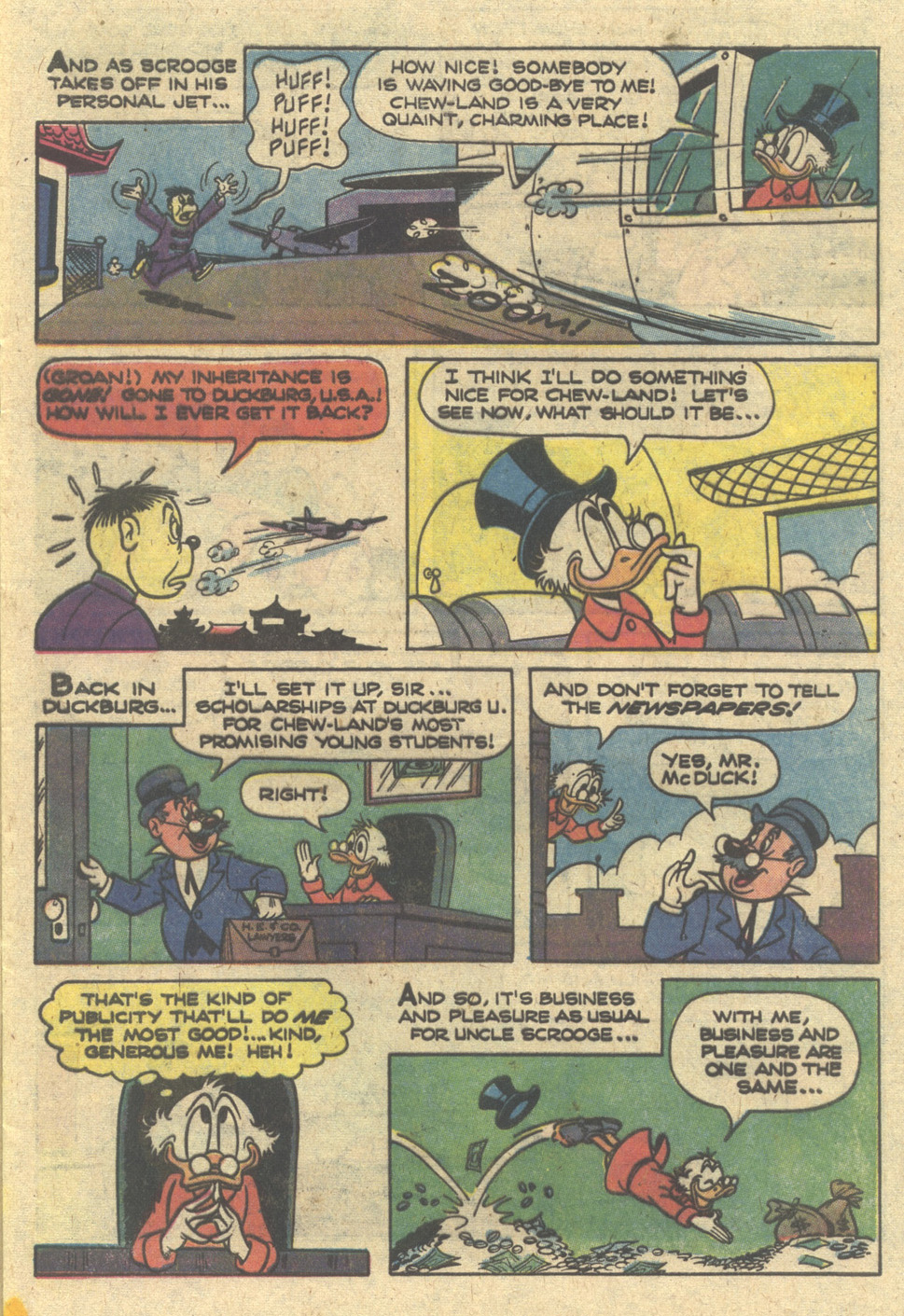 Read online Uncle Scrooge (1953) comic -  Issue #166 - 5