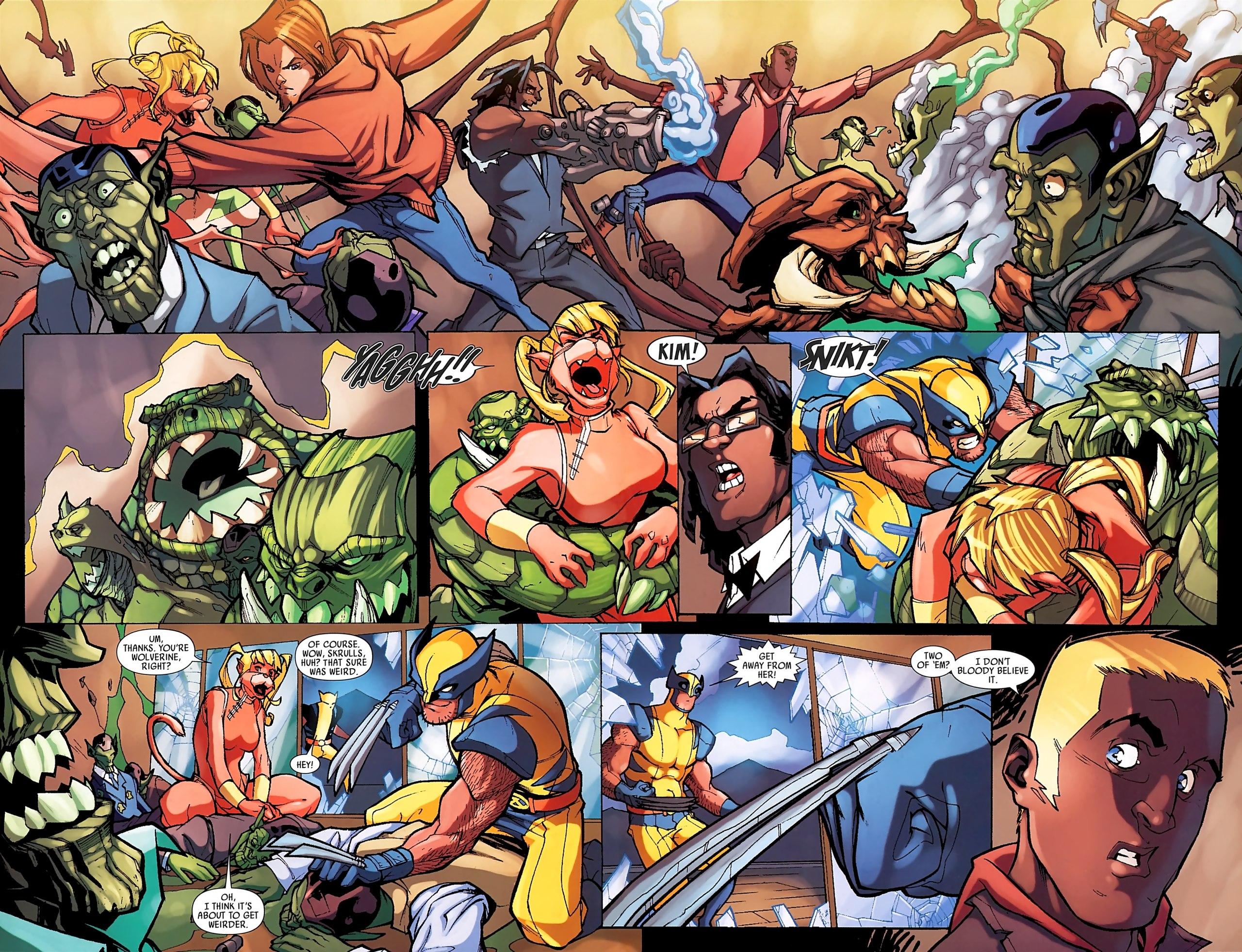 Read online Skrull Kill Krew (2009) comic -  Issue #3 - 21
