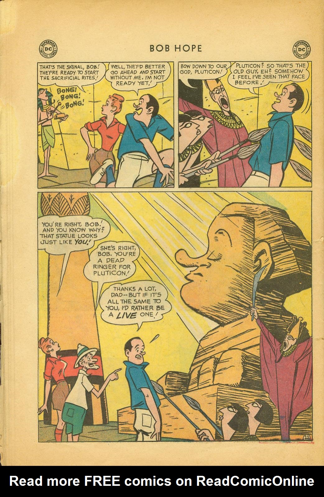 The Adventures of Bob Hope issue 64 - Page 28