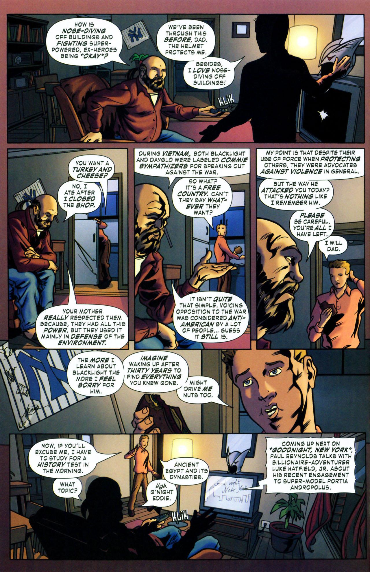 Read online ShadowHawk (2005) comic -  Issue #1 - 12