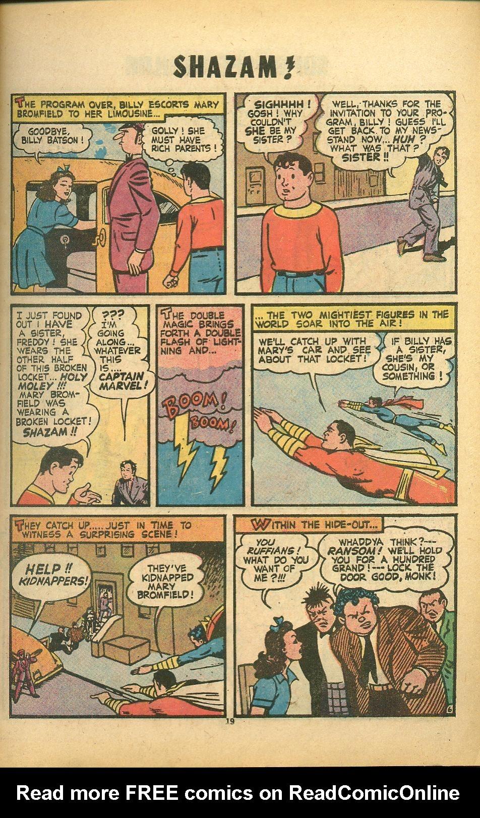 Read online Shazam! (1973) comic -  Issue #8 - 19