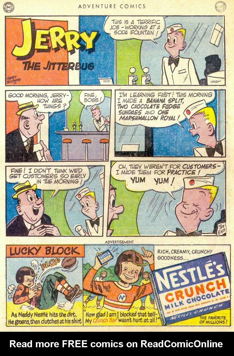 Read online Adventure Comics (1938) comic -  Issue #161 - 37