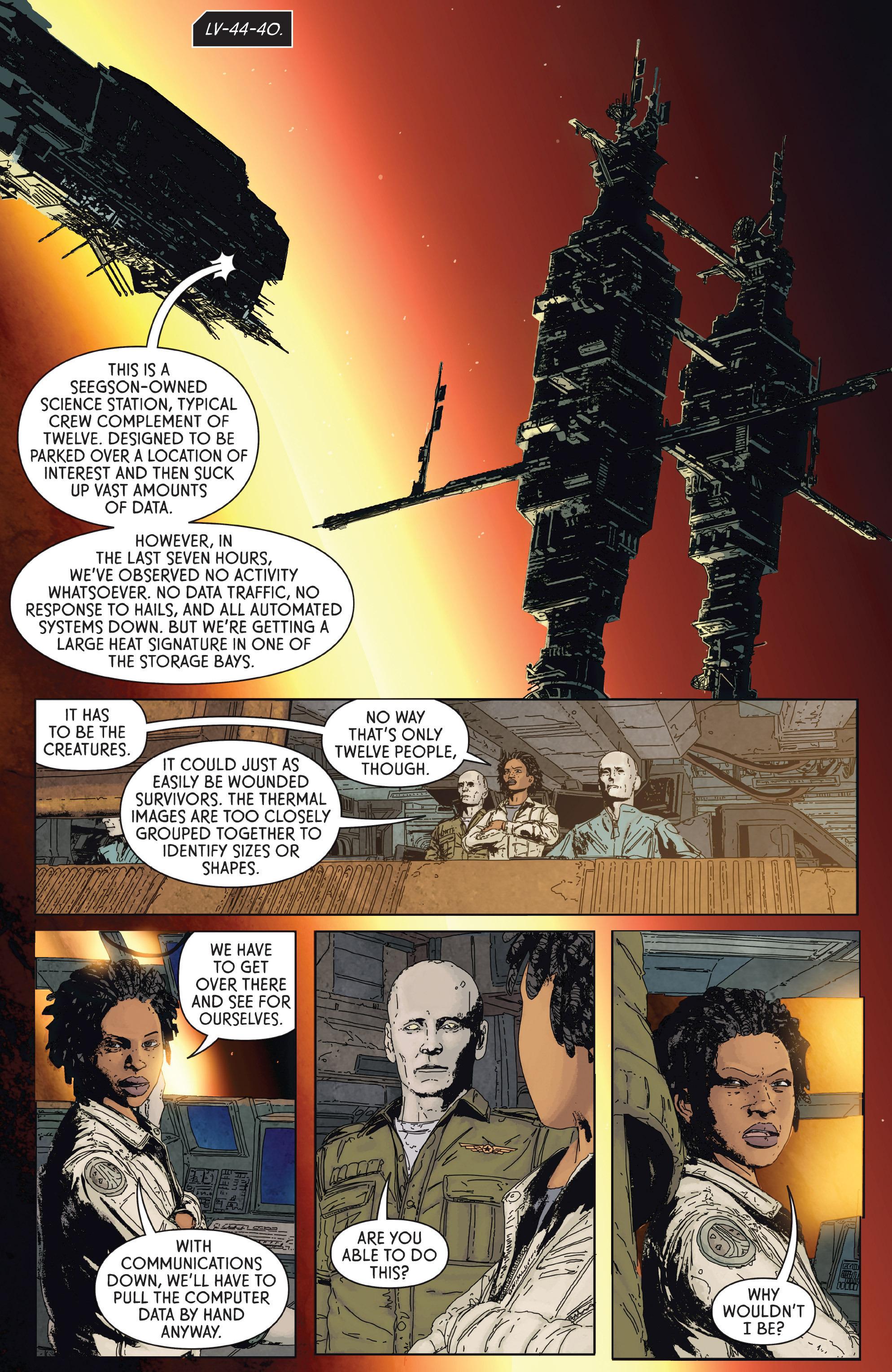 Read online Aliens: Defiance comic -  Issue #2 - 4