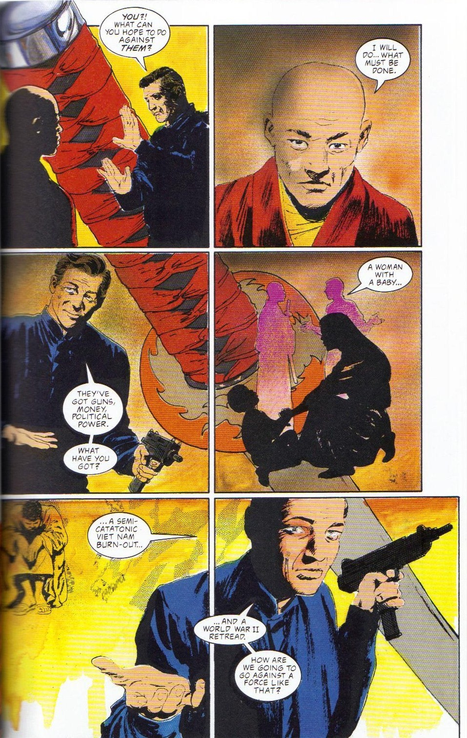 Read online Shado: Song of the Dragon comic -  Issue #2 - 21