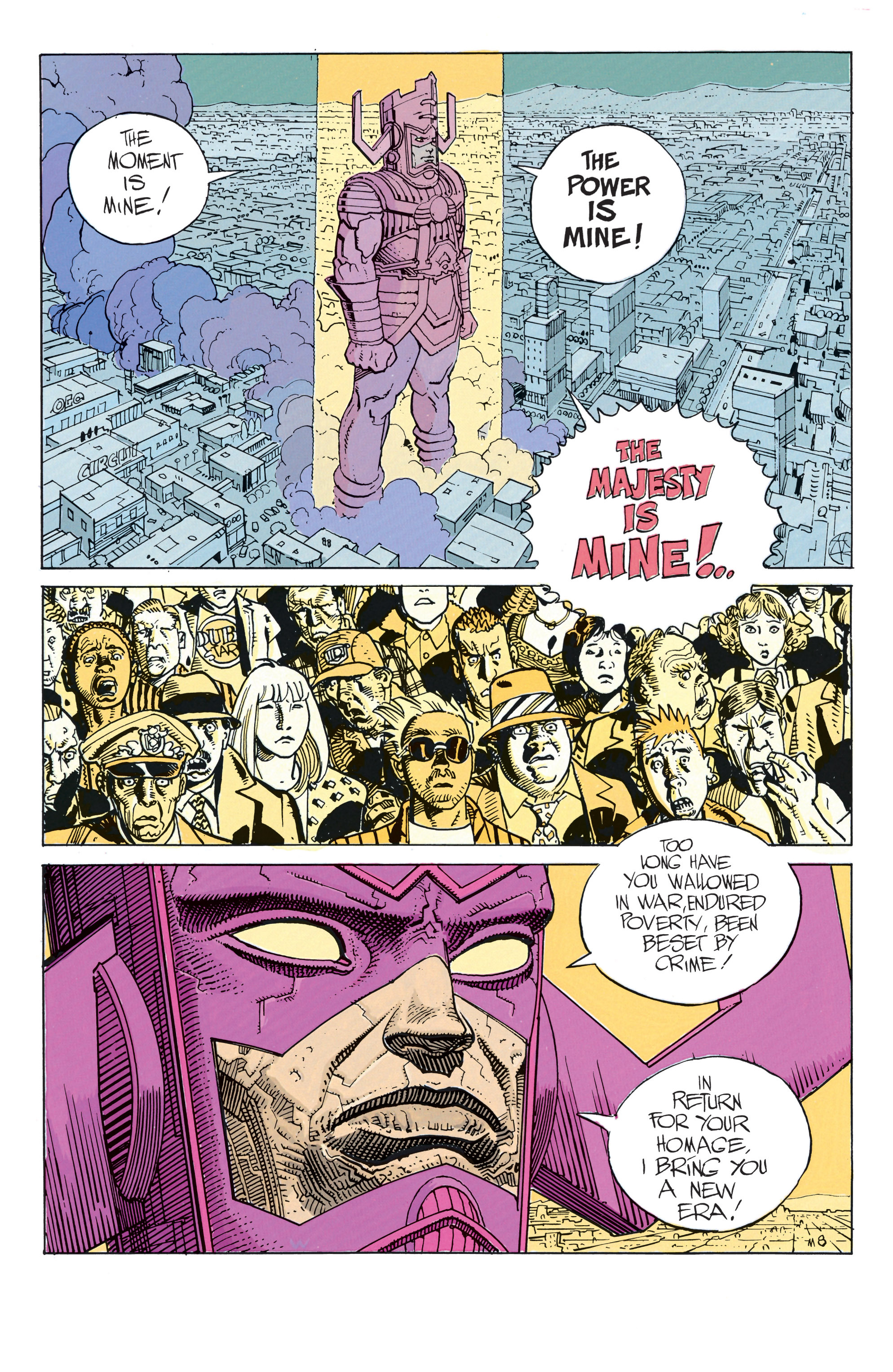 Read online Silver Surfer: Parable comic -  Issue # TPB - 13