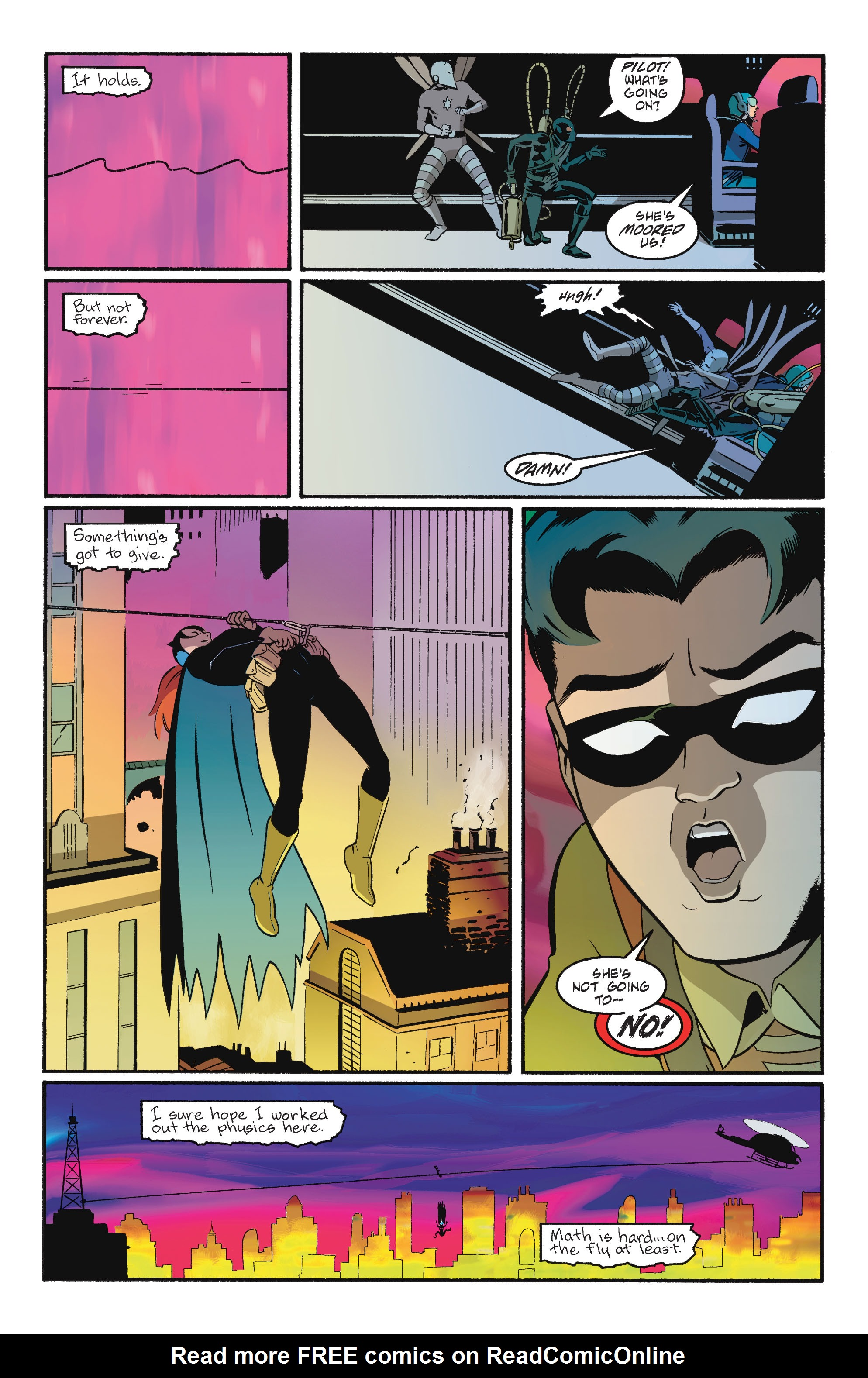Read online Batgirl/Robin: Year One comic -  Issue # TPB 2 - 184