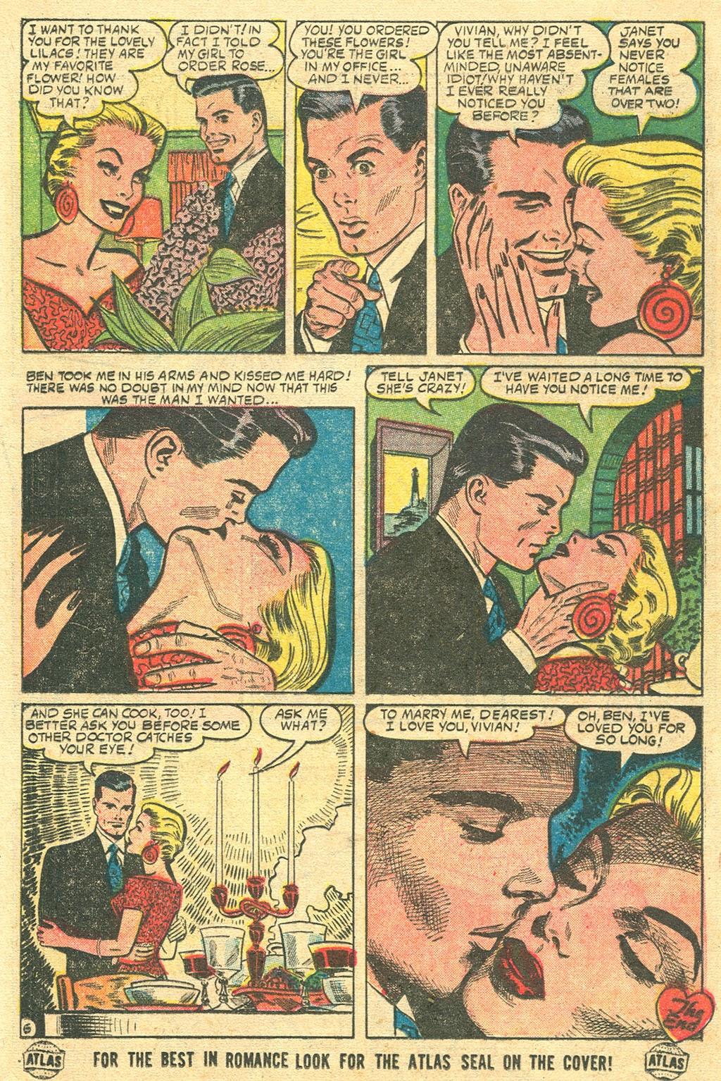 Love Romances (1949) issue 48 - Page 16