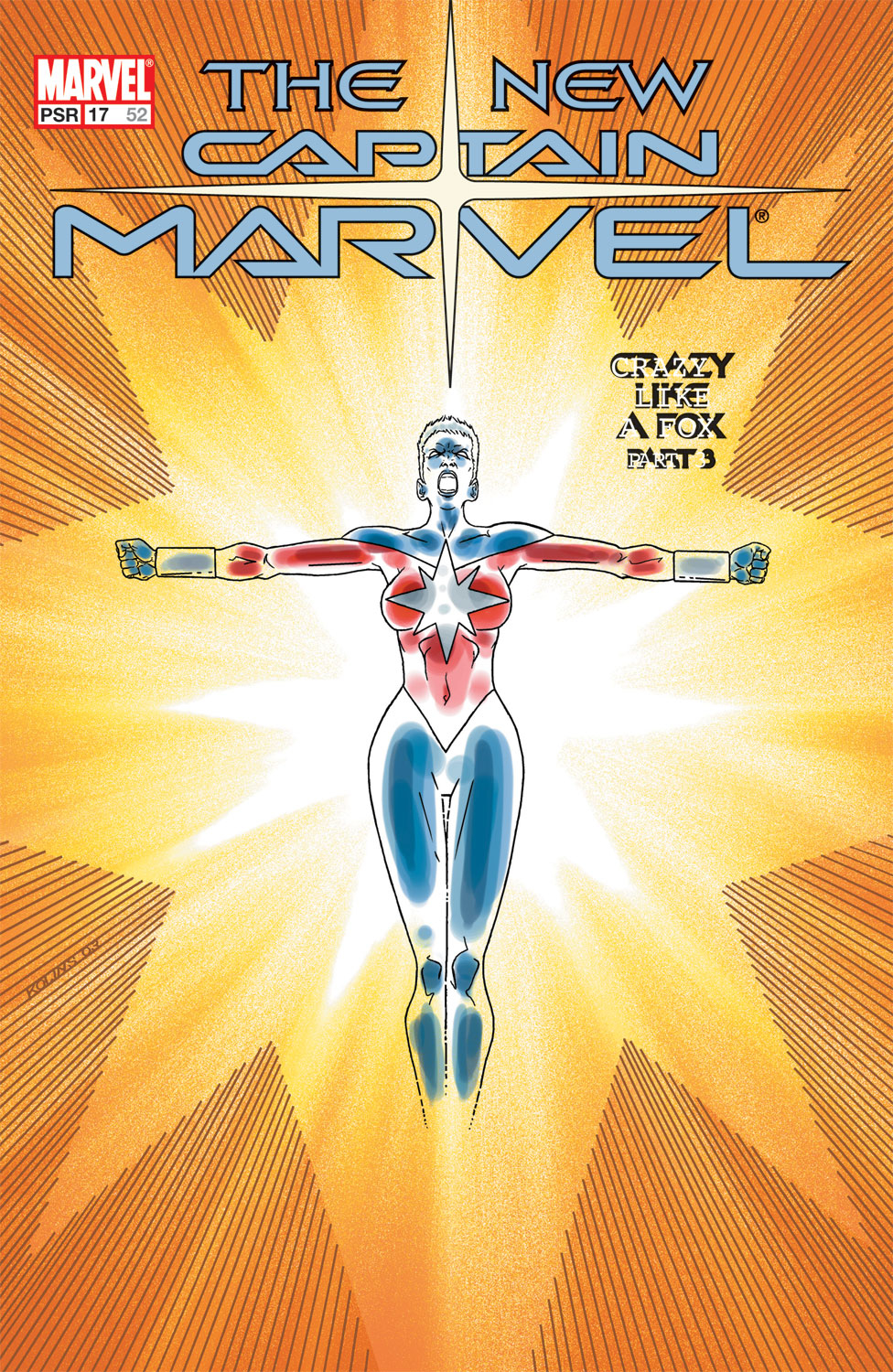 Captain Marvel (2002) Issue #17 #17 - English 1
