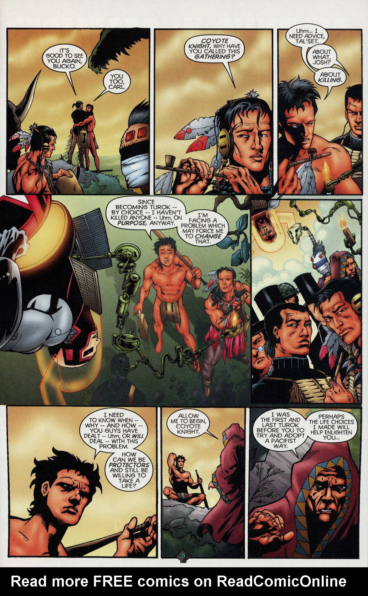 Read online Turok: Tales of the Lost Land comic -  Issue # Full - 5