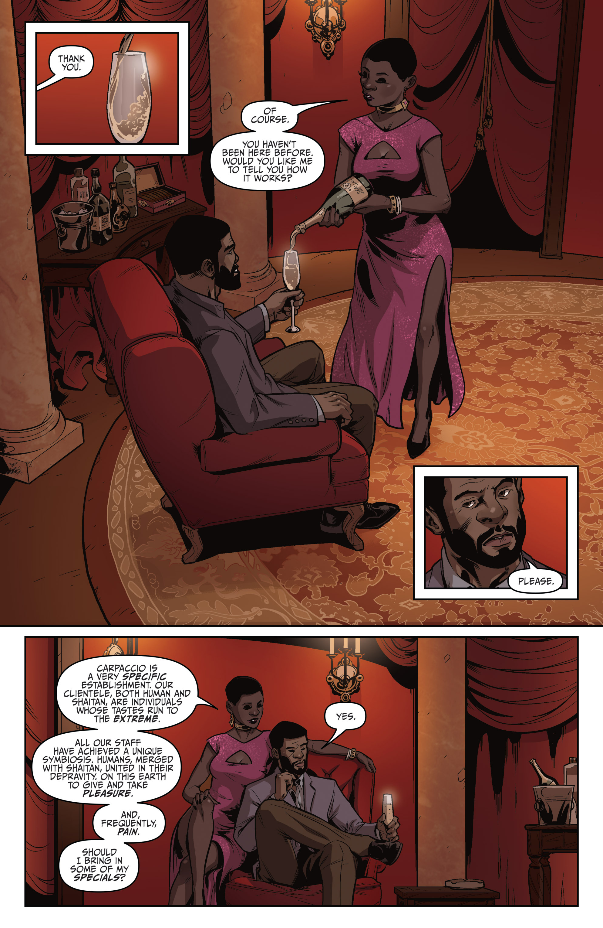 Read online Darkness Visible comic -  Issue #4 - 14