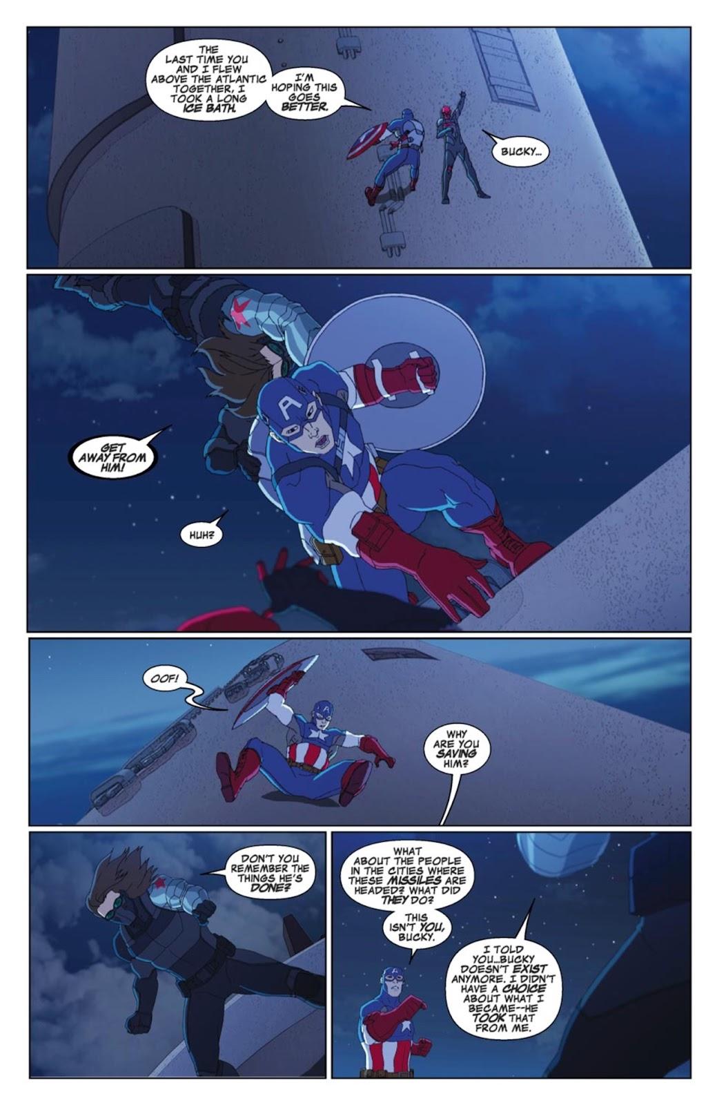Read online Marvel Universe Avengers Assemble Season 2 comic -  Issue #4 - 19