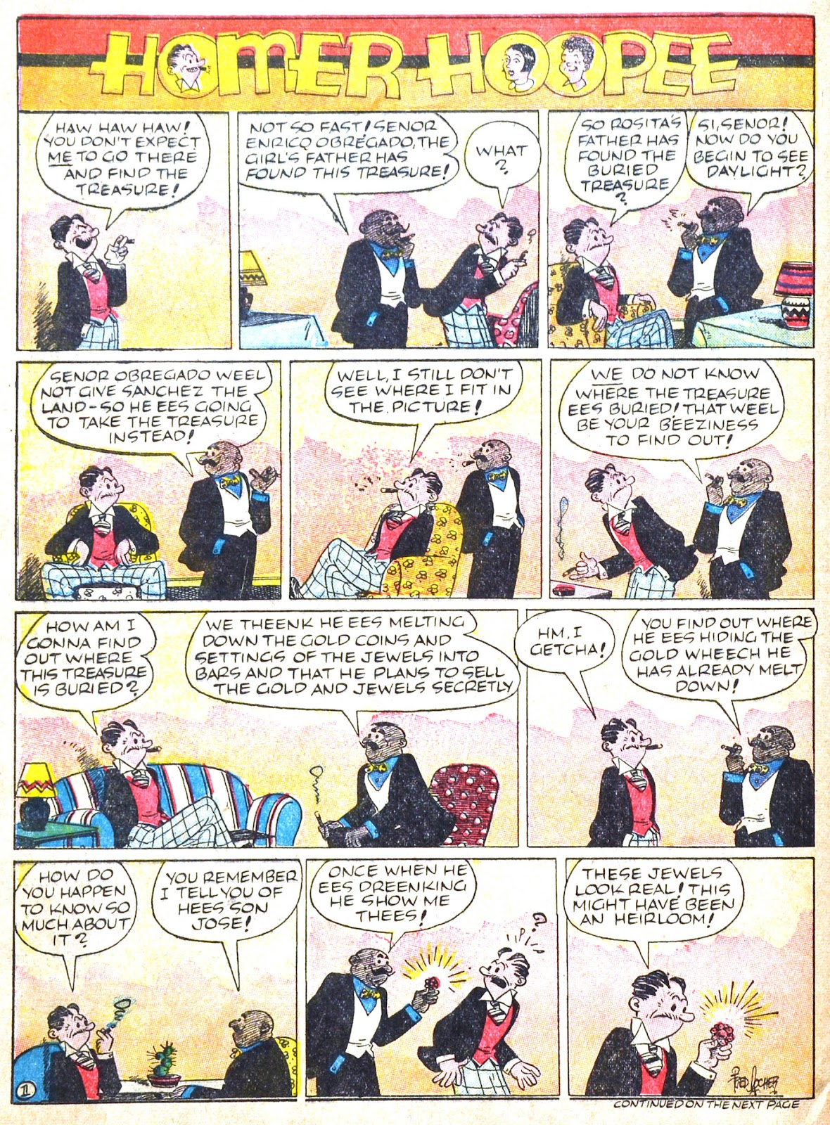 Read online Famous Funnies comic -  Issue #51 - 61