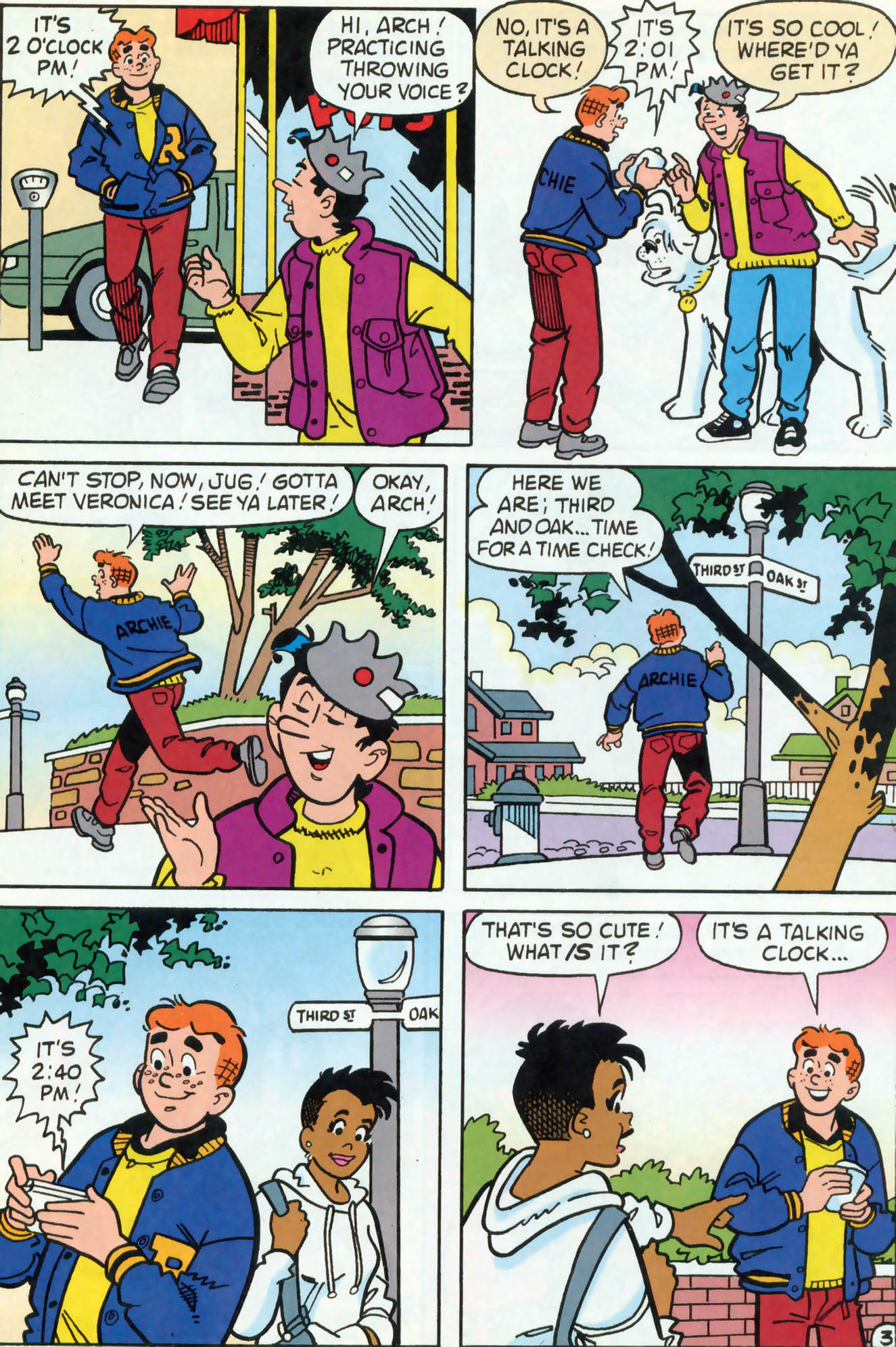 Read online Archie (1960) comic -  Issue #460 - 21