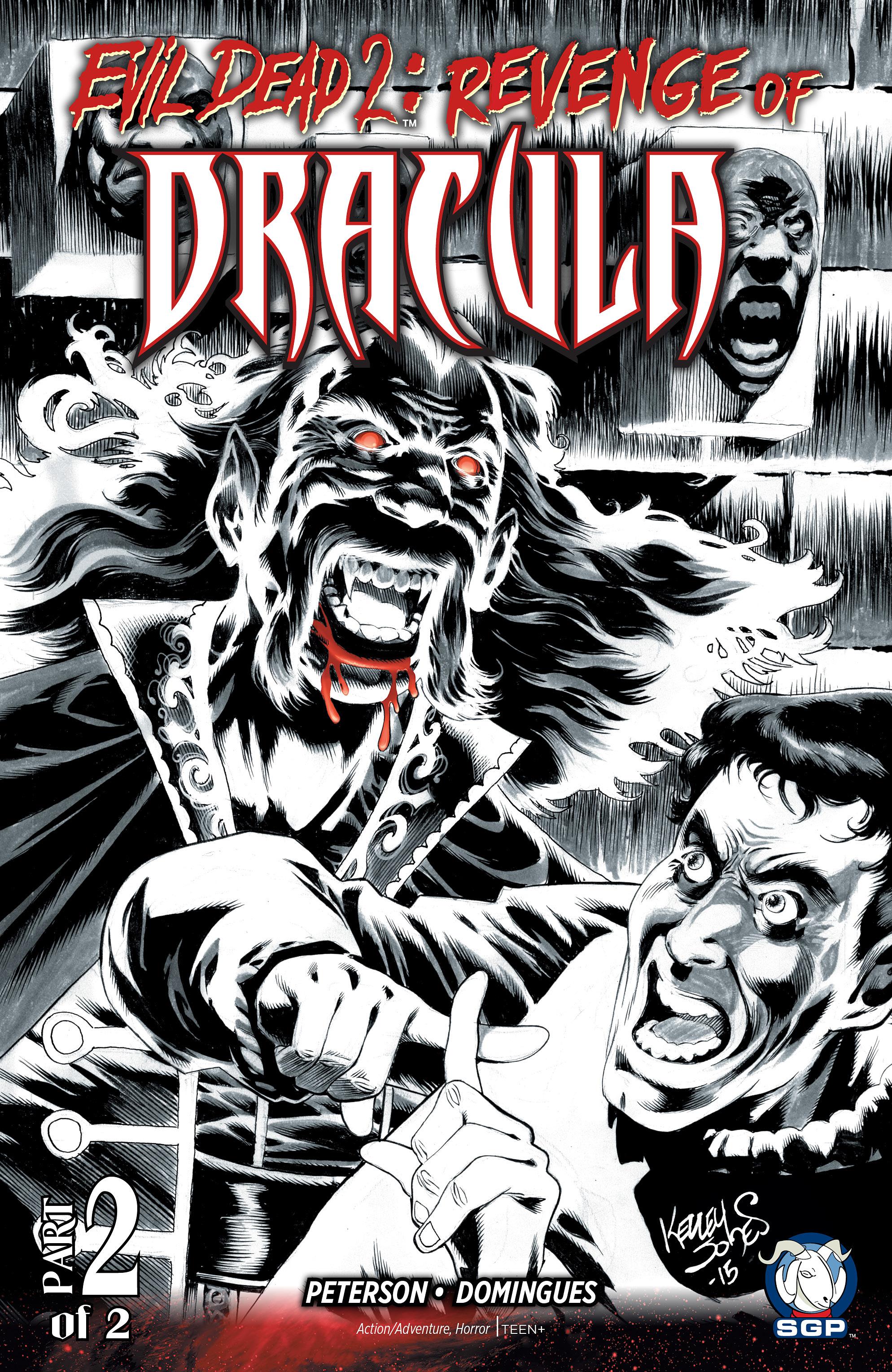 Evil Dead 2: Revenge of Dracula 2 Page 1