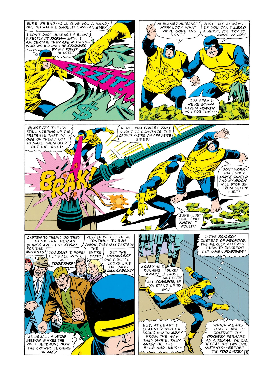 Uncanny X-Men (1963) issue 20 - Page 9