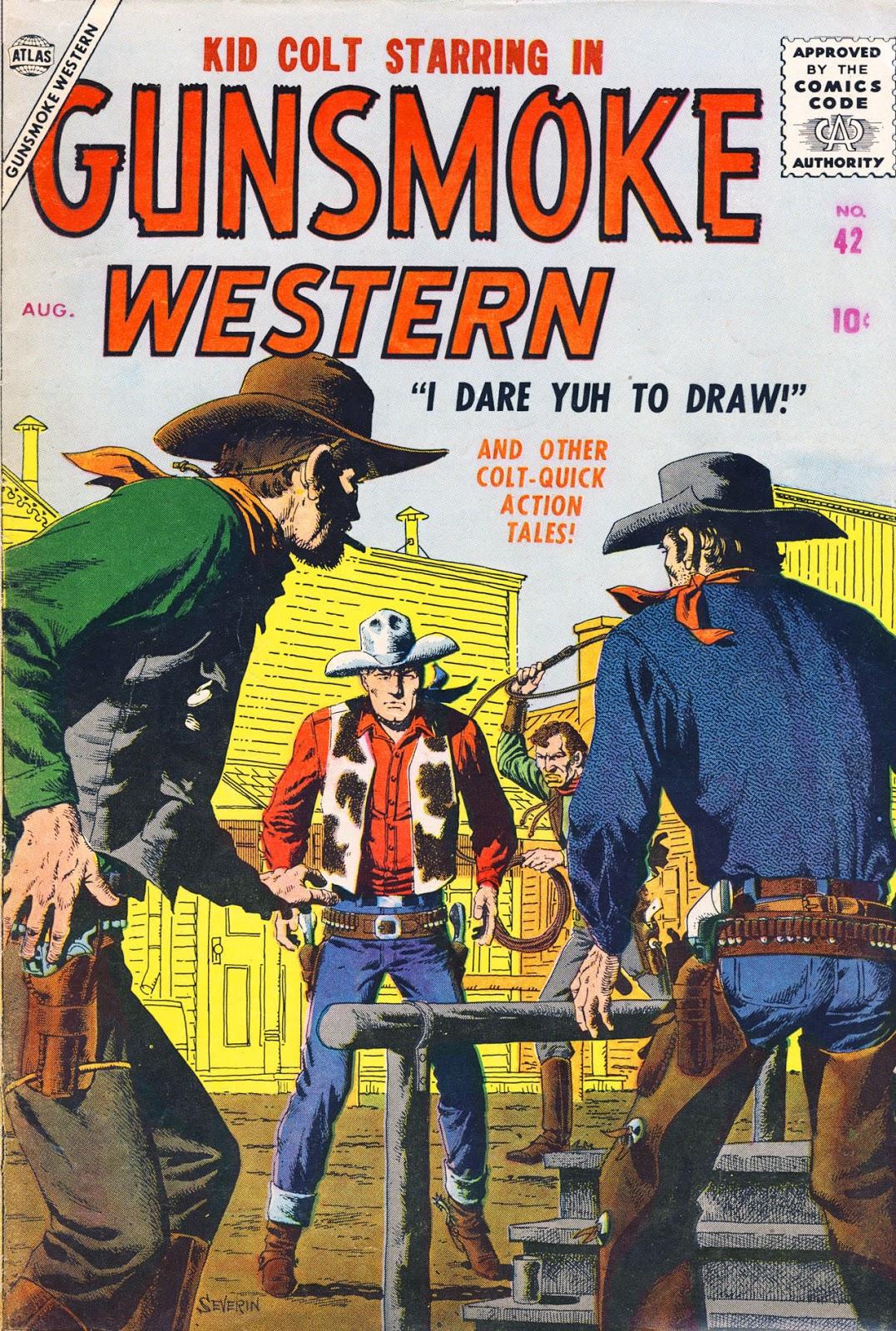 Gunsmoke Western issue 42 - Page 1