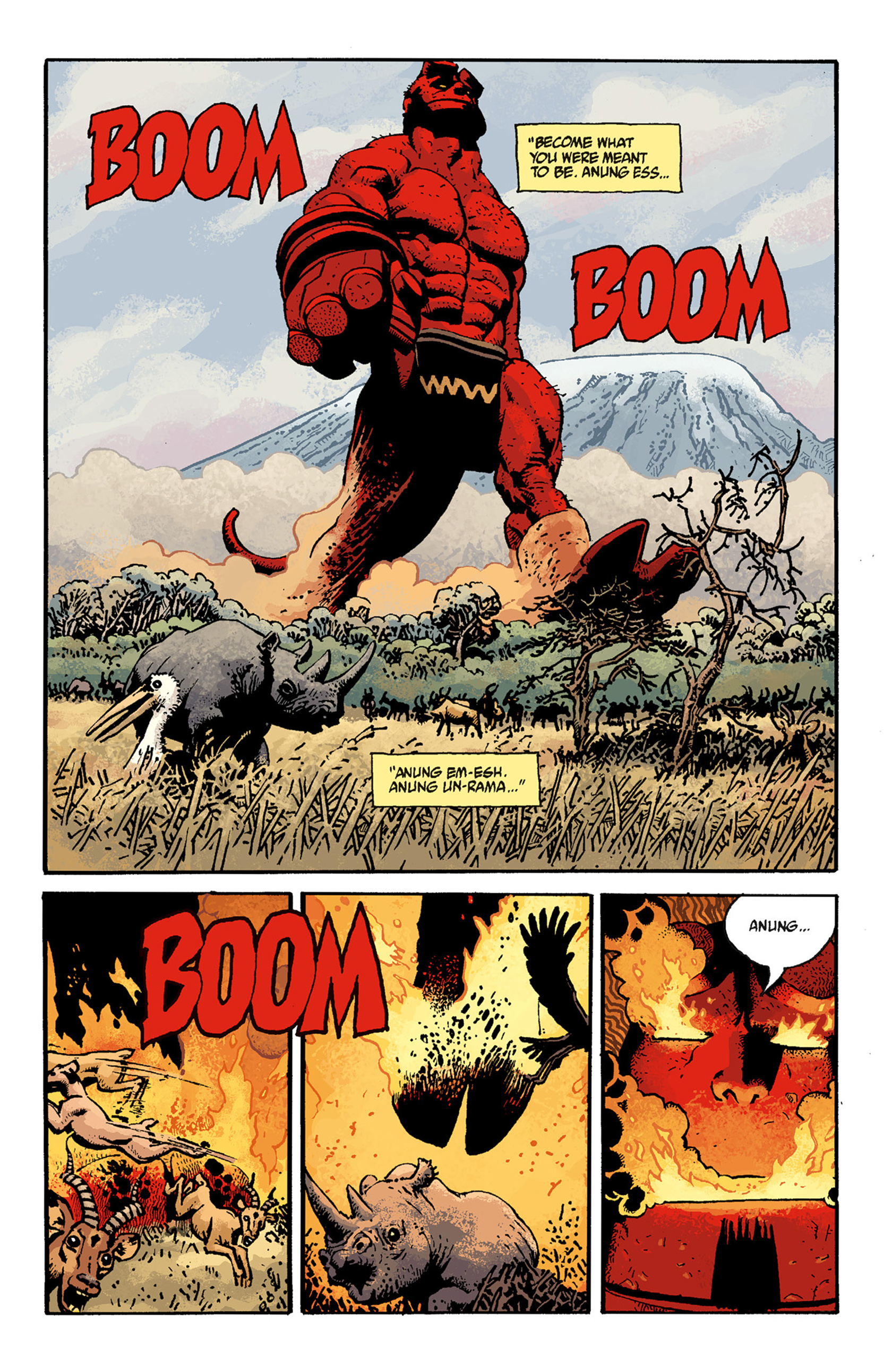 Read online Hellboy: The Troll Witch and Others comic -  Issue # TPB - 105