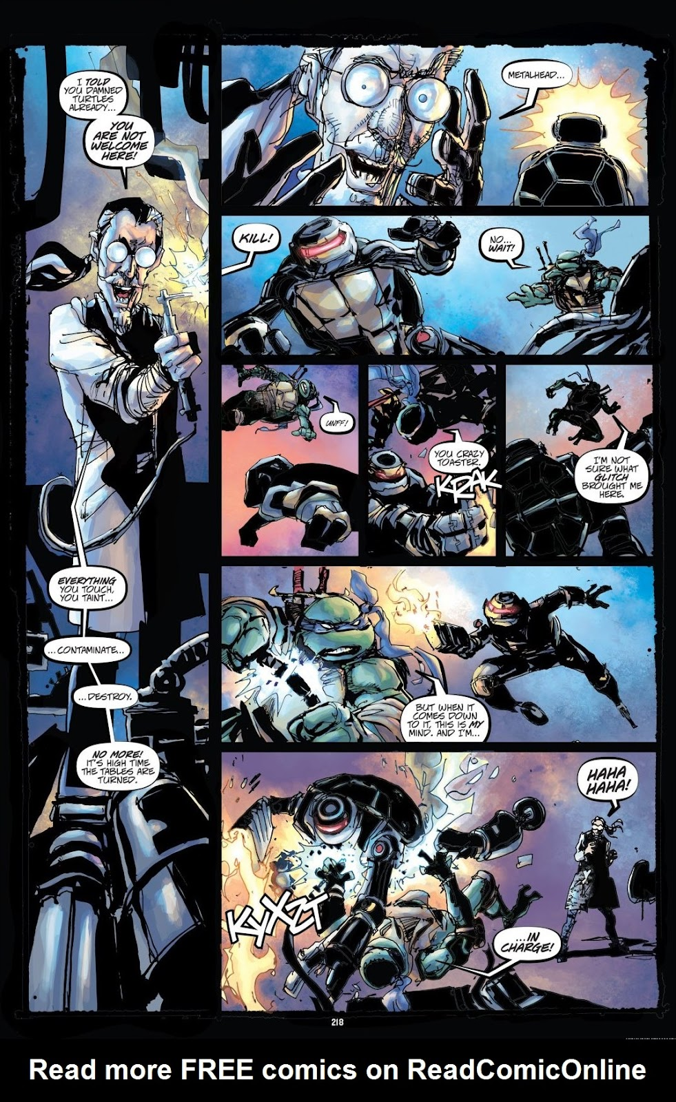 Read online Teenage Mutant Ninja Turtles: The IDW Collection comic -  Issue # TPB 8 (Part 3) - 17