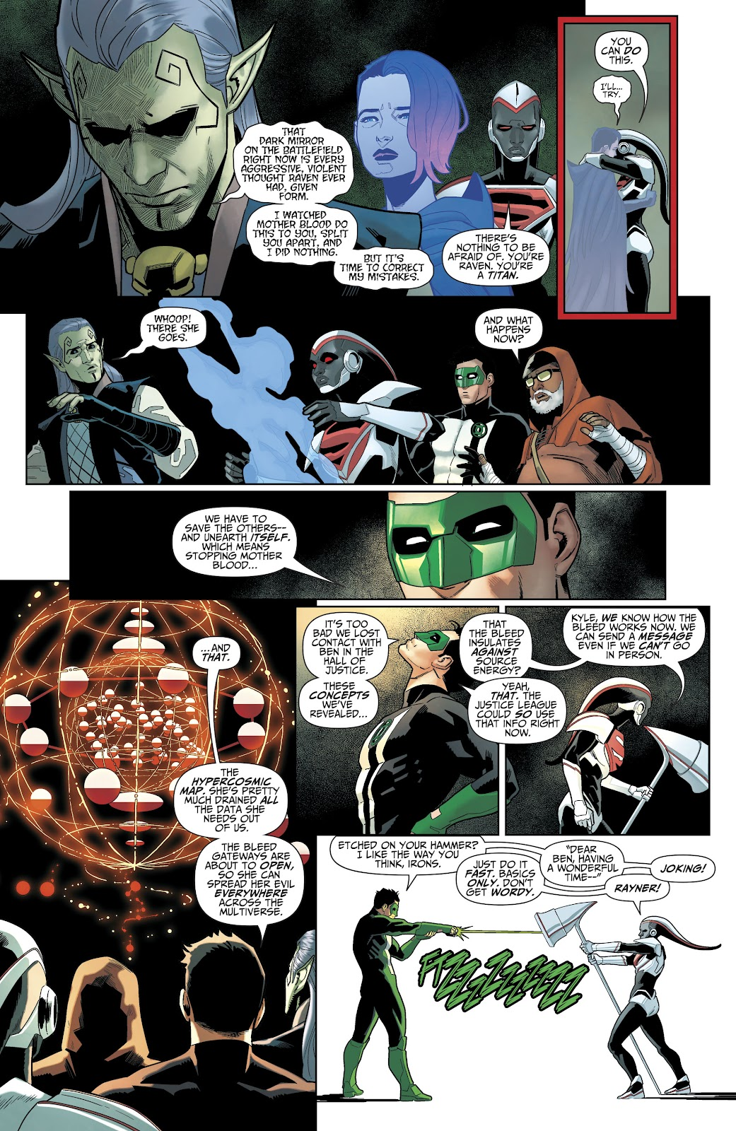 Read online Titans (2016) comic -  Issue #35 - 14