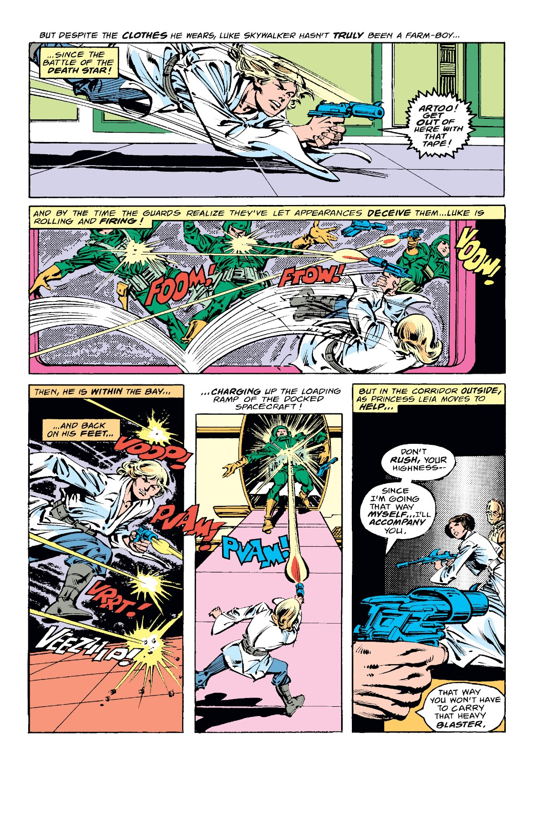 Read online Star Wars Legends: The Original Marvel Years - Epic Collection comic -  Issue # TPB 1 (Part 4) - 95