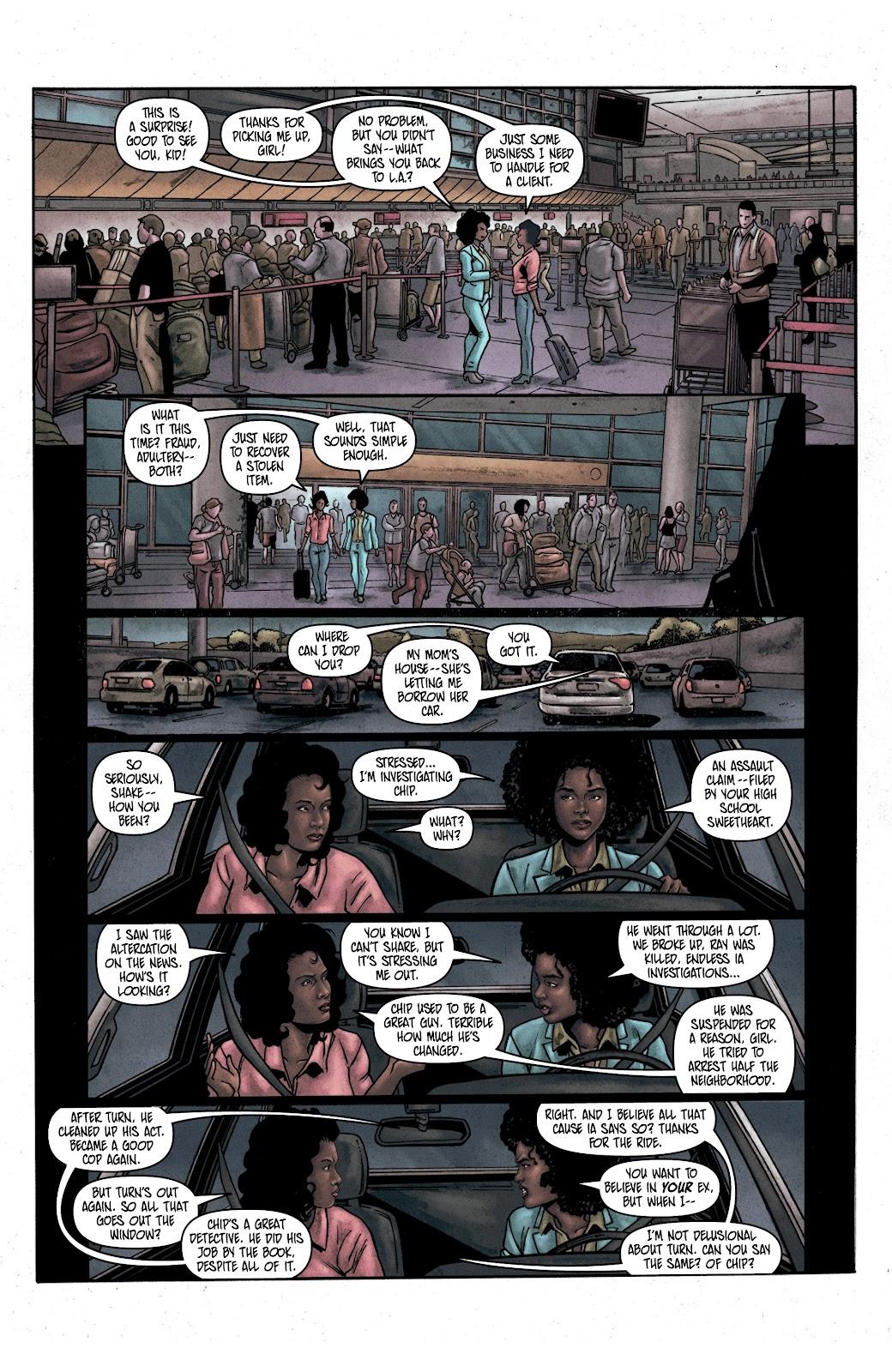 Read online Vindication comic -  Issue #2 - 17