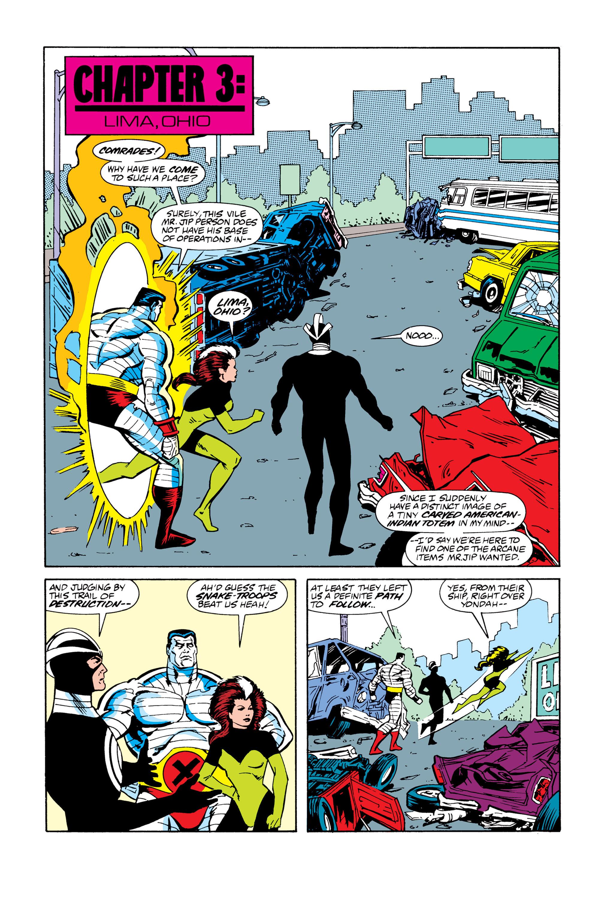 Read online Uncanny X-Men (1963) comic -  Issue # _Annual 13 - 17