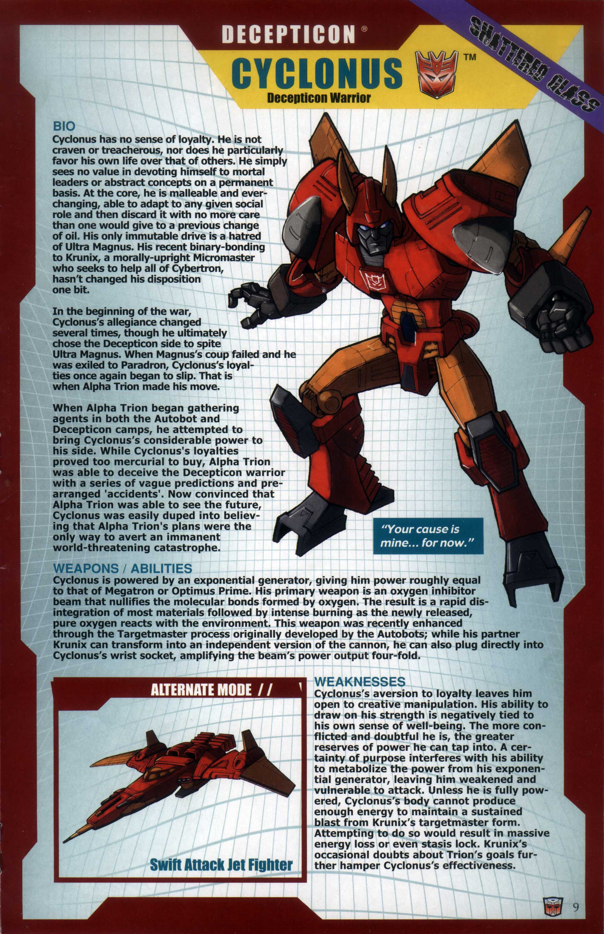 Read online Transformers: Collectors' Club comic -  Issue #29 - 9
