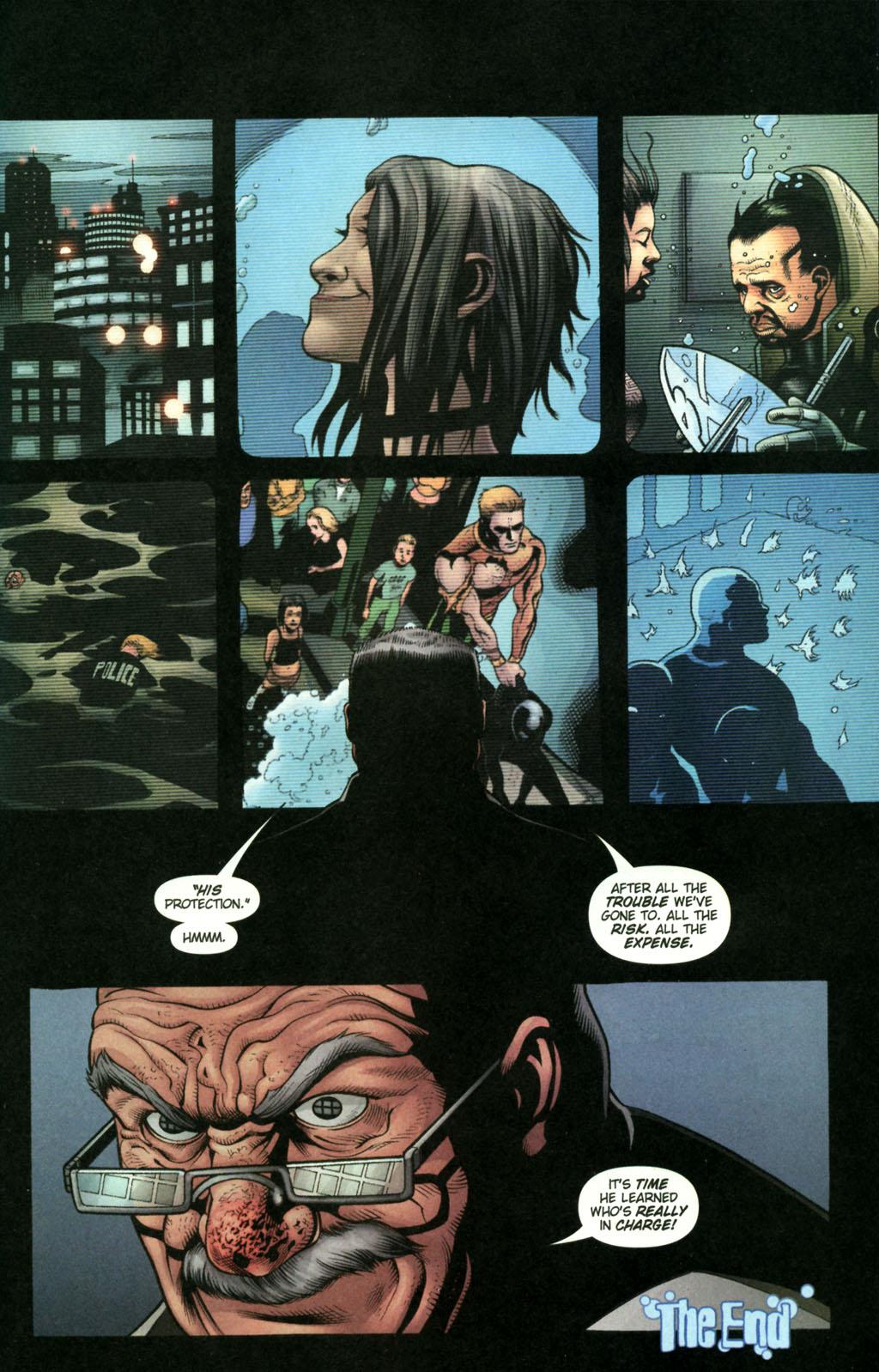 Read online Aquaman (2003) comic -  Issue #22 - 23