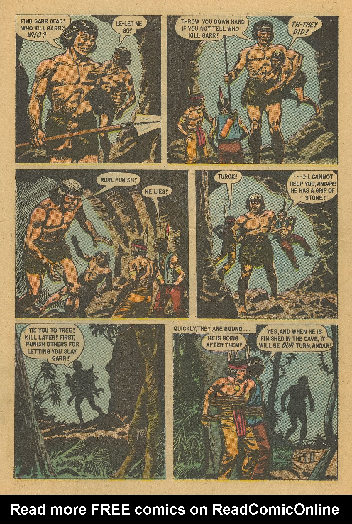 Read online Turok, Son of Stone comic -  Issue #16 - 13