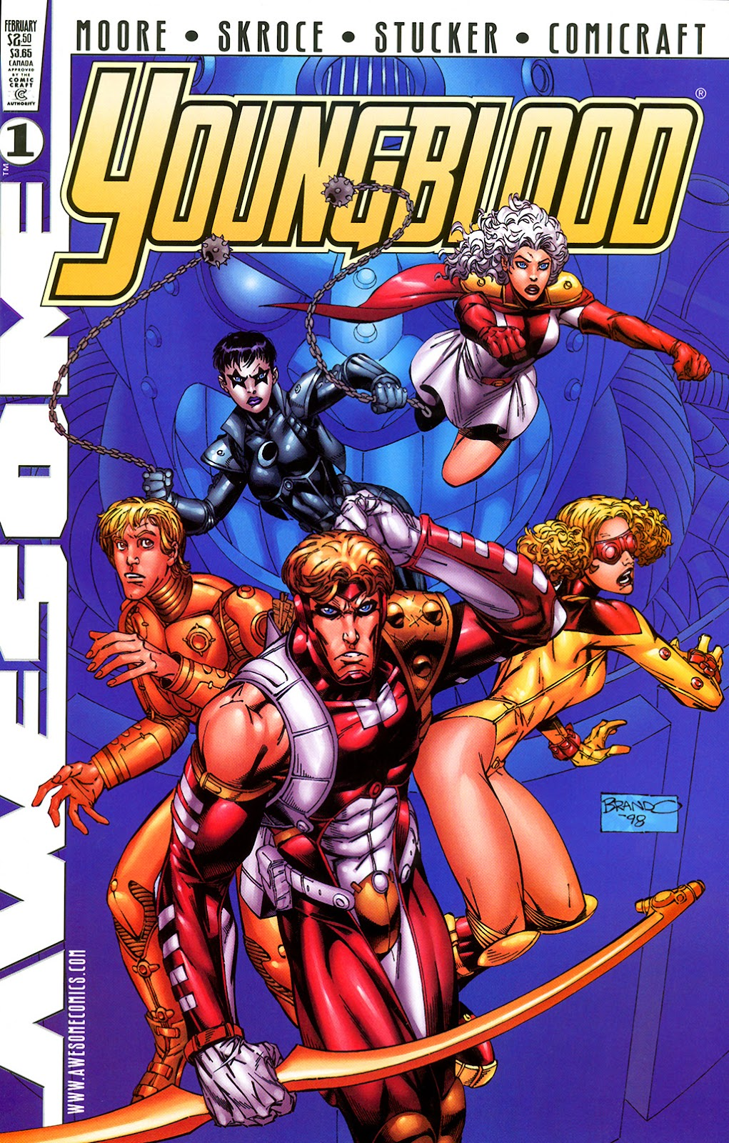 Youngblood (1998) issue 1 - Page 1