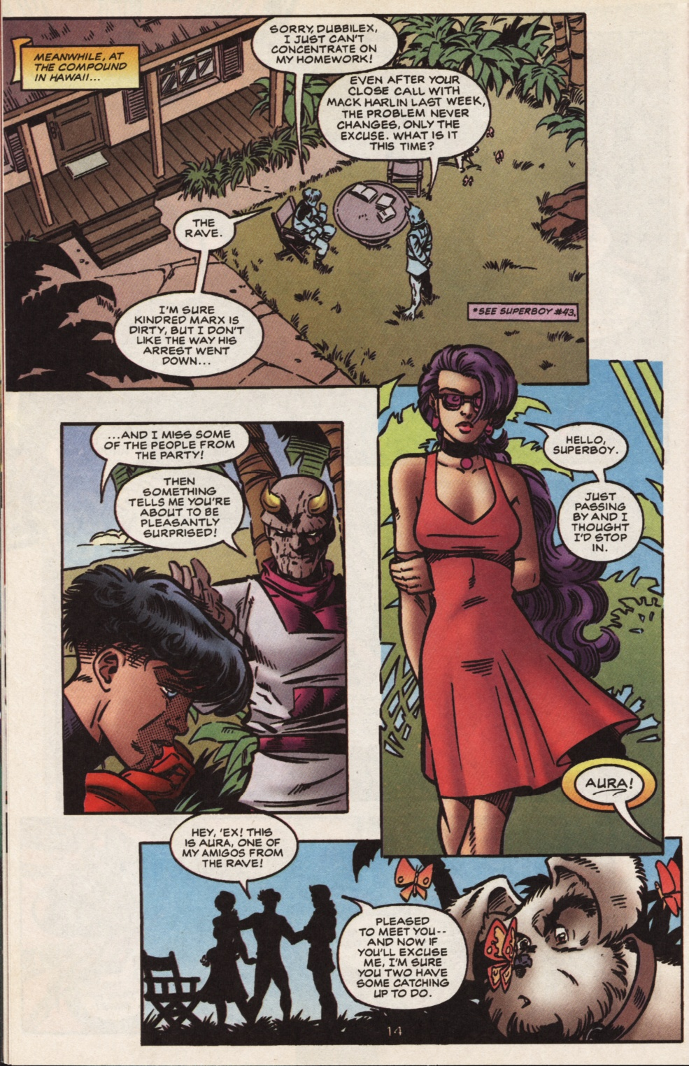 Read online Superboy & The Ravers comic -  Issue #13 - 15