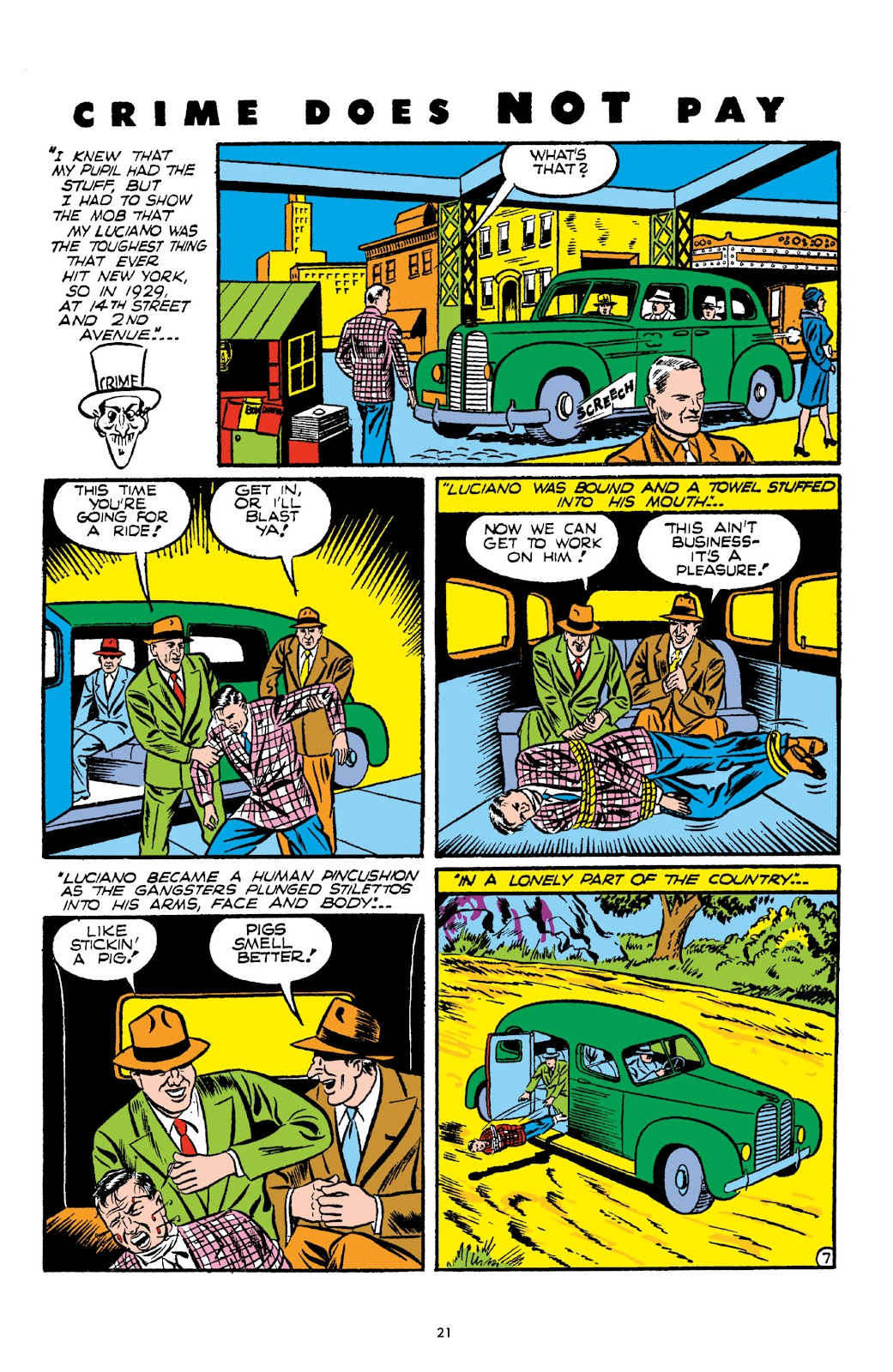 Read online Crime Does Not Pay Archives comic -  Issue # TPB 2 (Part 1) - 21