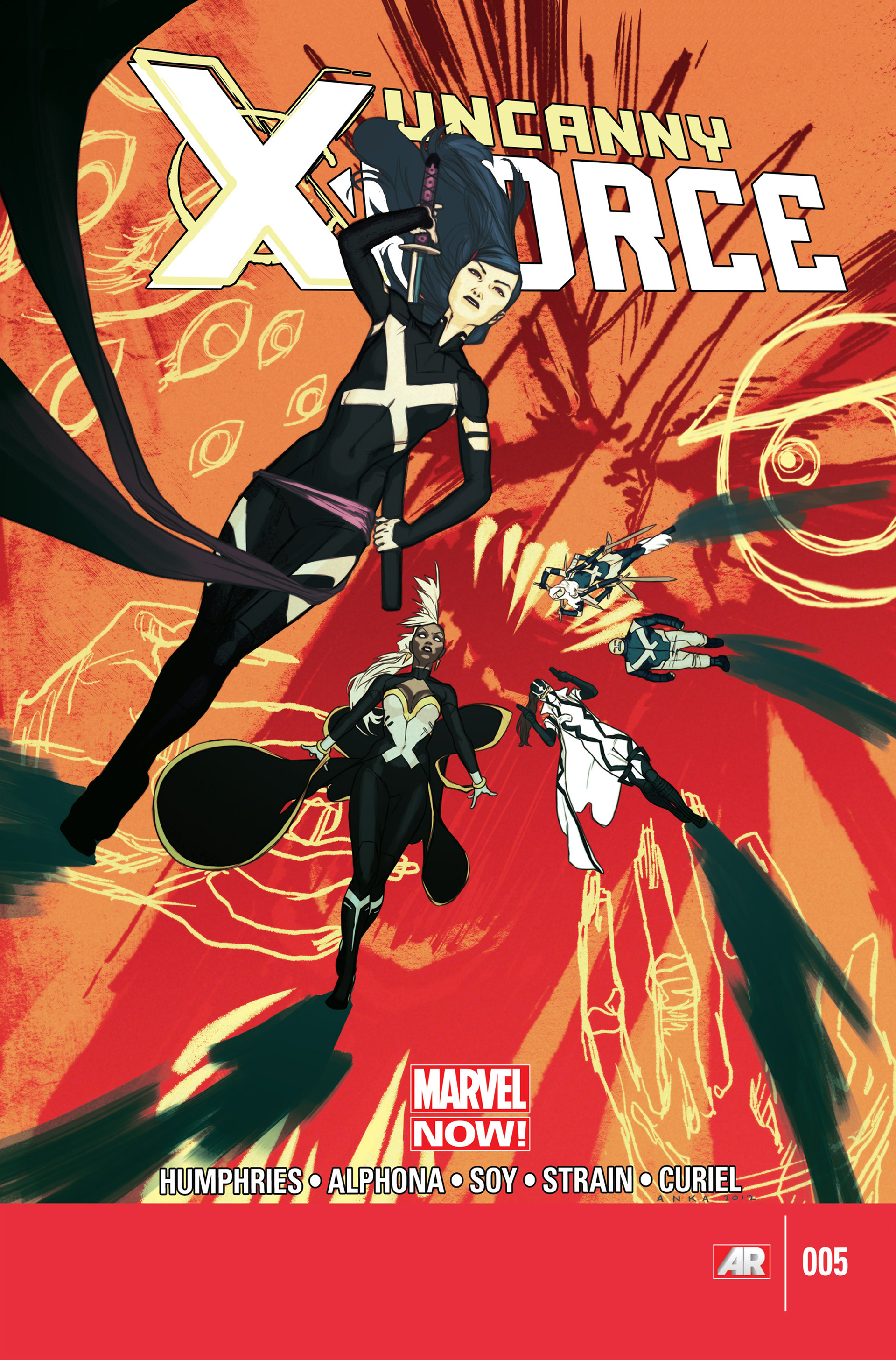 Read online Uncanny X-Force (2013) comic -  Issue #5 - 1