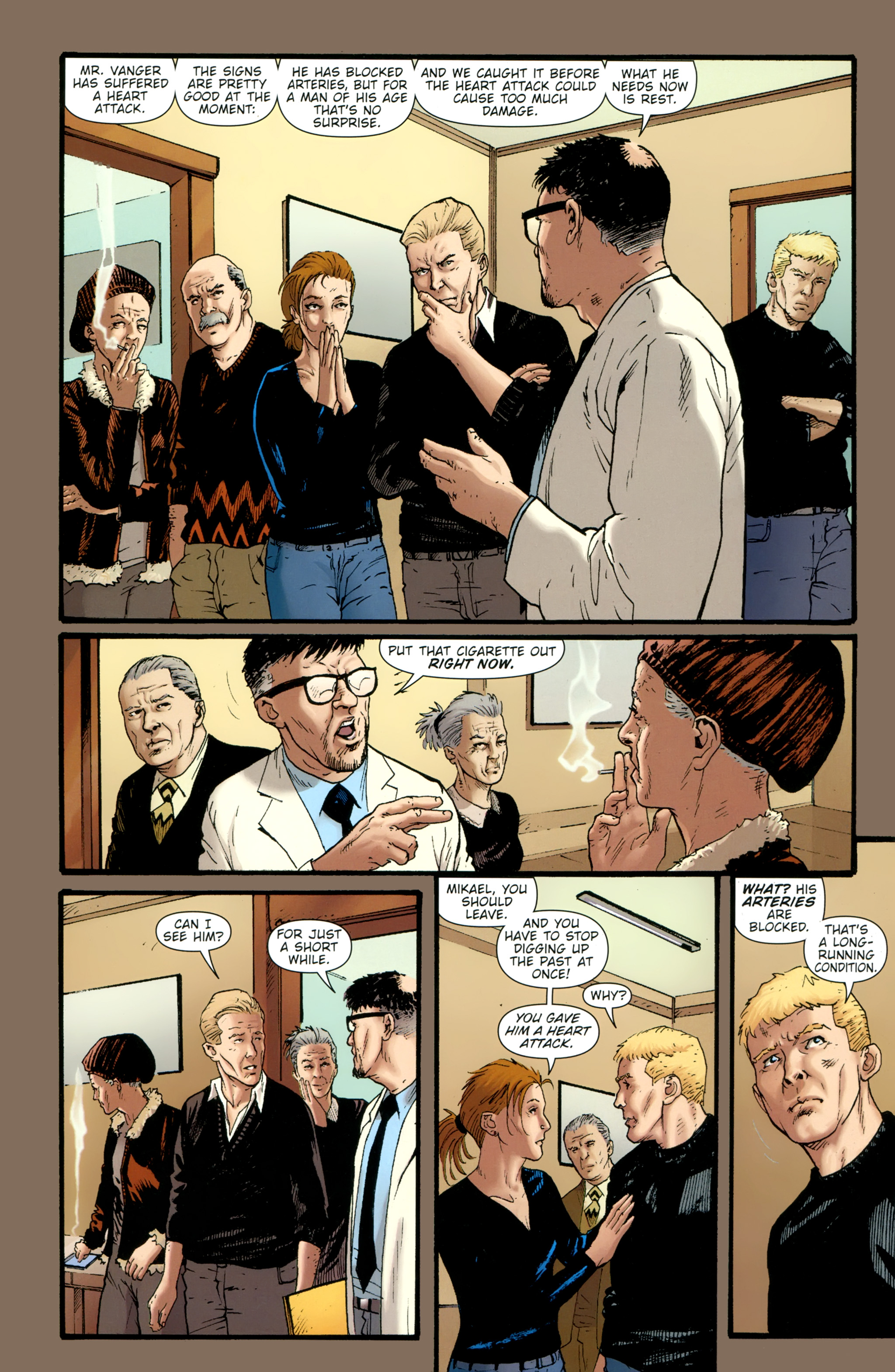 Read online The Girl With the Dragon Tattoo comic -  Issue # TPB 2 - 42