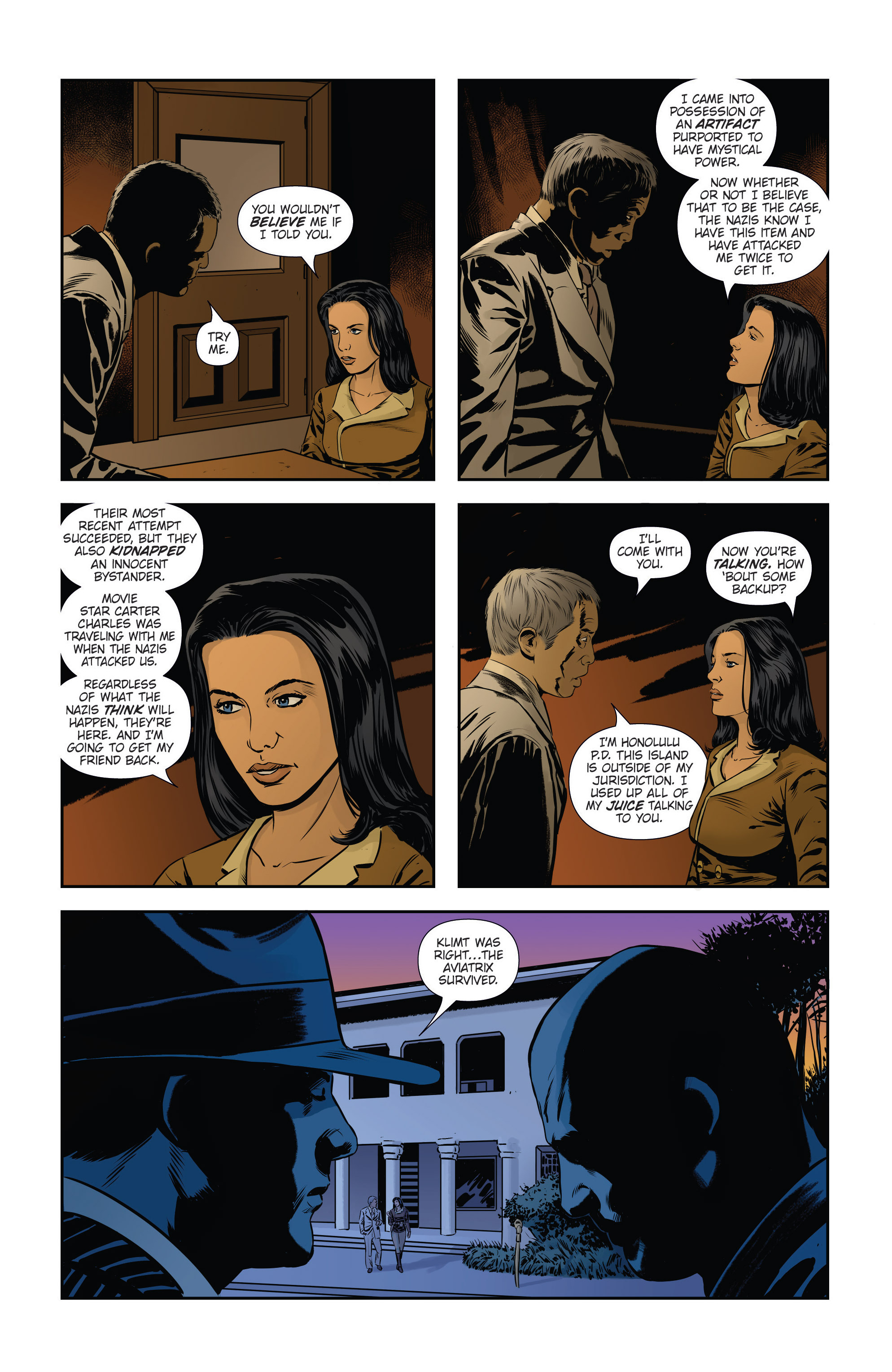 Read online Athena Voltaire and the Volcano Goddess comic -  Issue #3 - 9