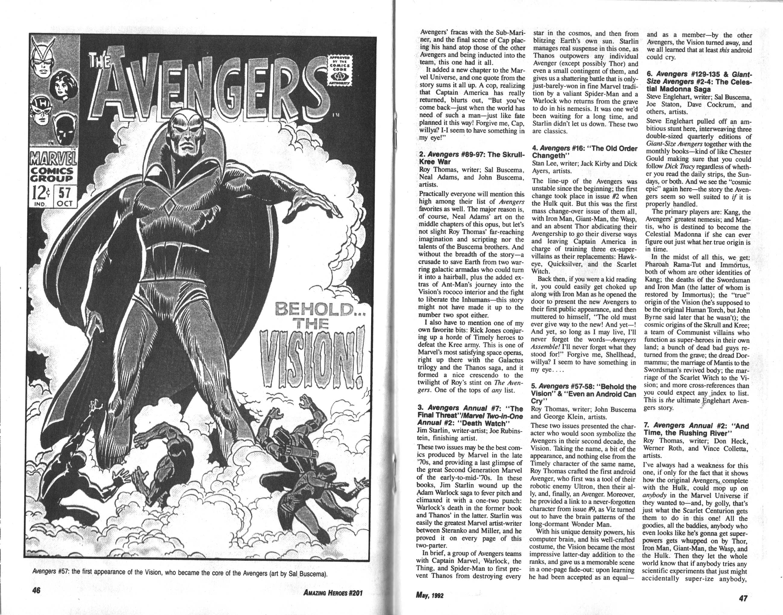 Read online Amazing Heroes comic -  Issue #201 - 24