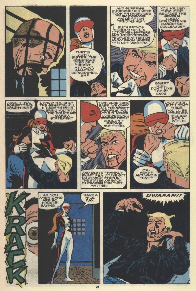 Read online Alpha Flight (1983) comic -  Issue #77 - 28