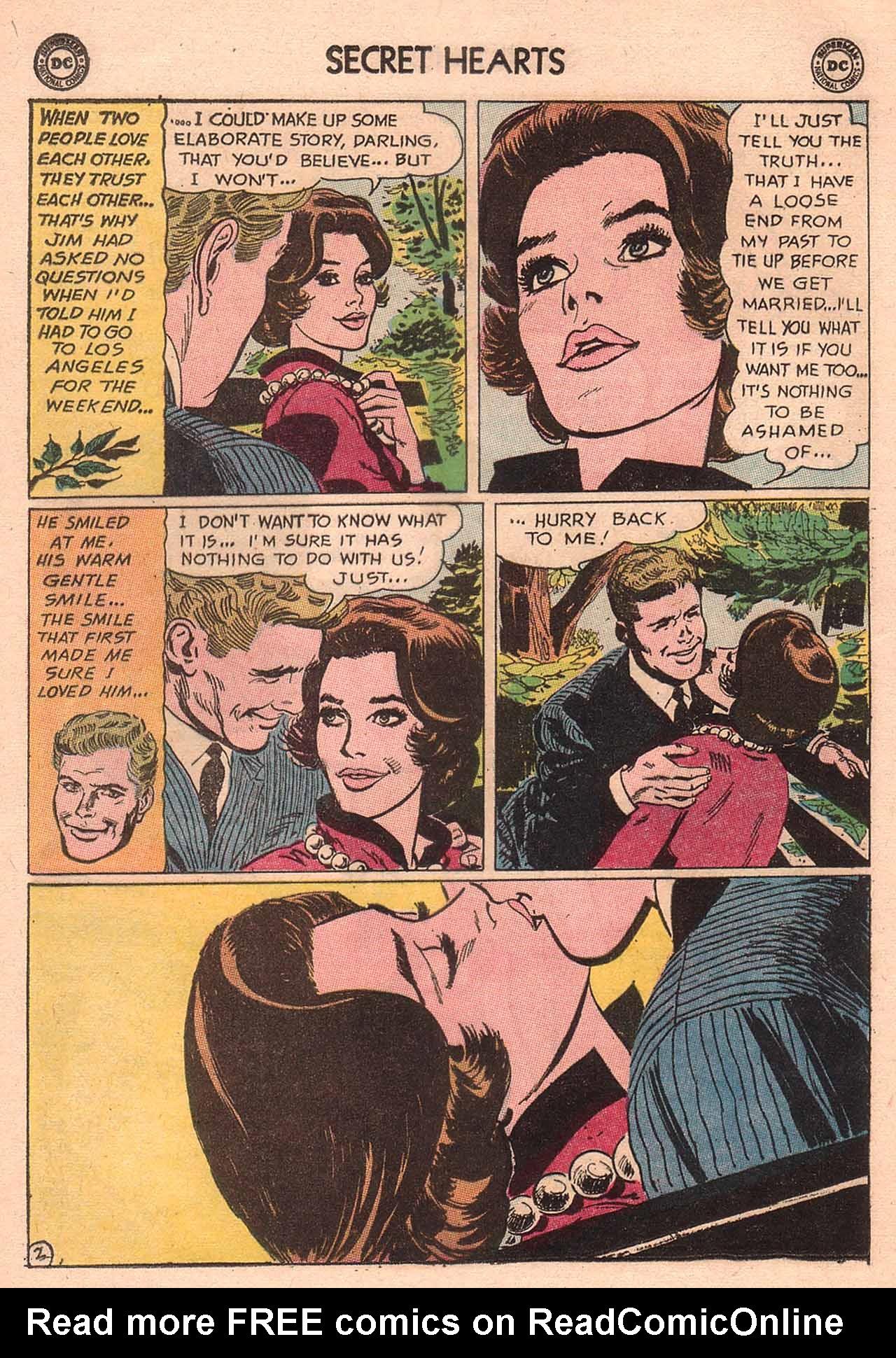 Read online Secret Hearts comic -  Issue #94 - 28