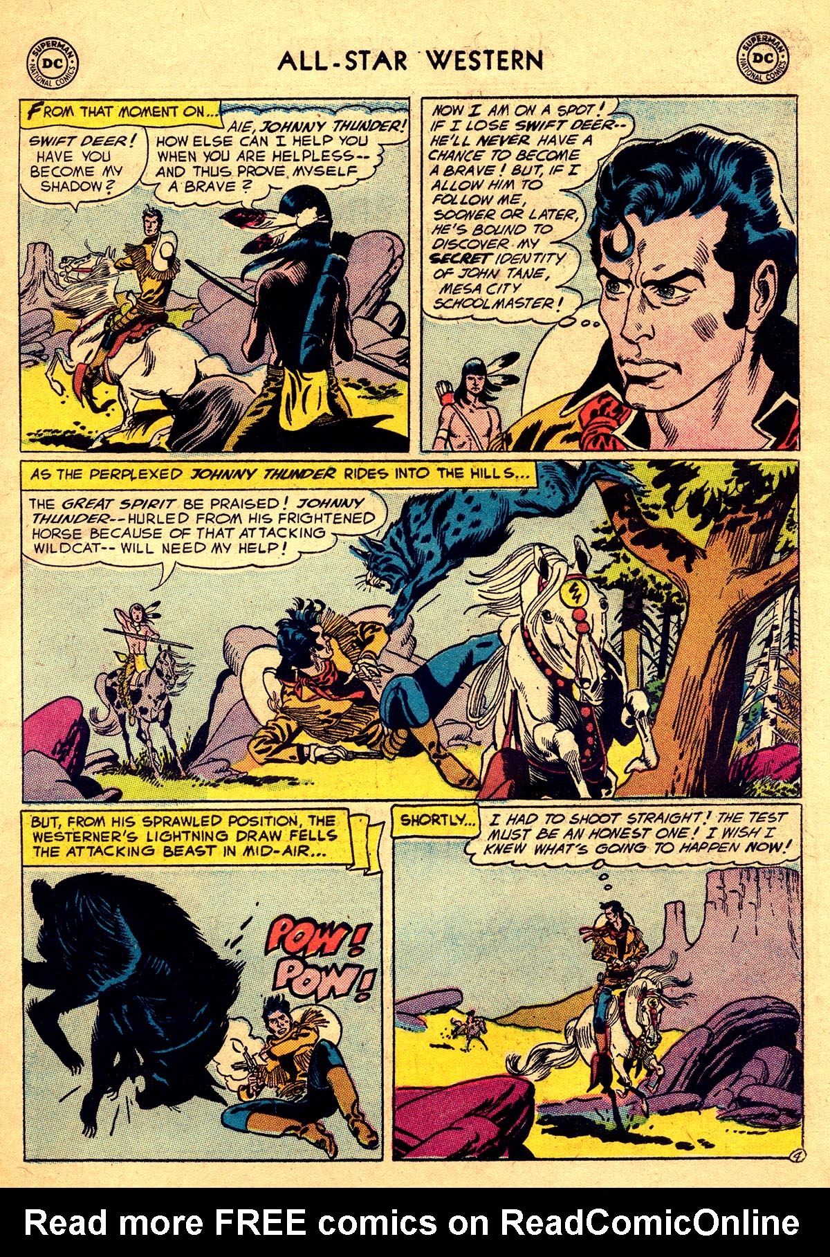Read online All-Star Western (1951) comic -  Issue #93 - 31