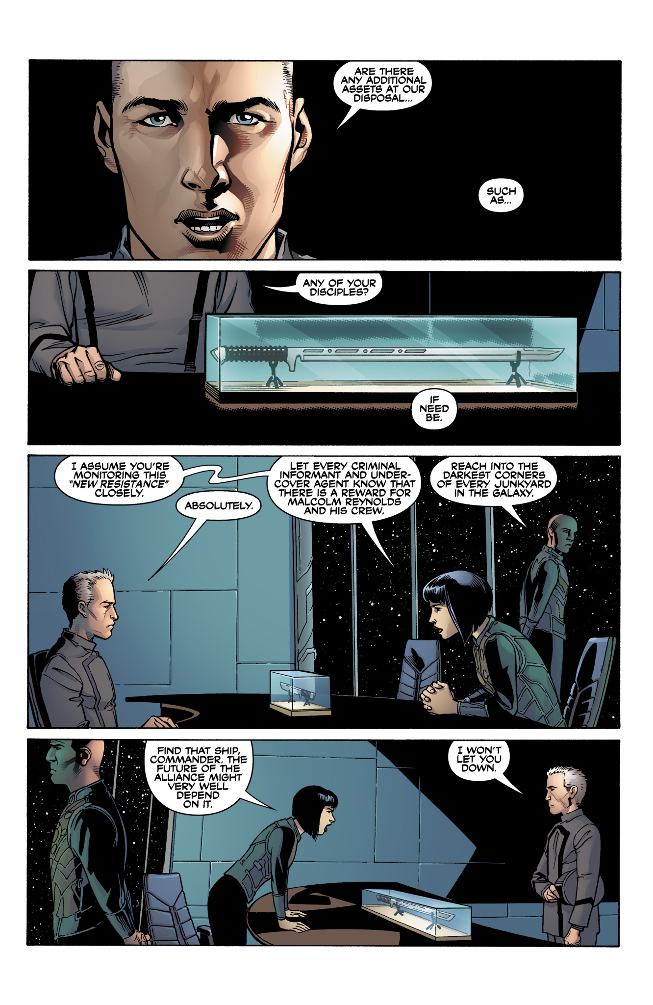 Read online Serenity: Firefly Class 03-K64  Leaves on the Wind comic -  Issue #1 - 6