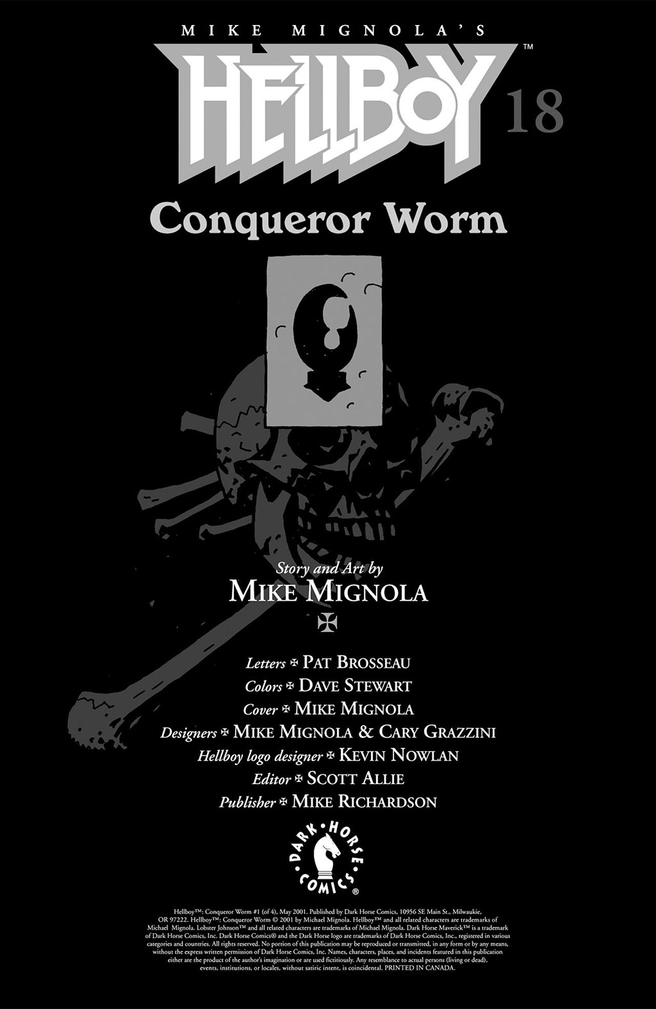 Read online Hellboy: Conqueror Worm comic -  Issue #2 - 2