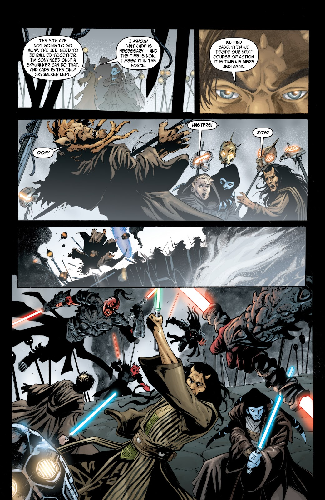 Read online Star Wars Legends: Legacy - Epic Collection comic -  Issue # TPB 1 (Part 1) - 32