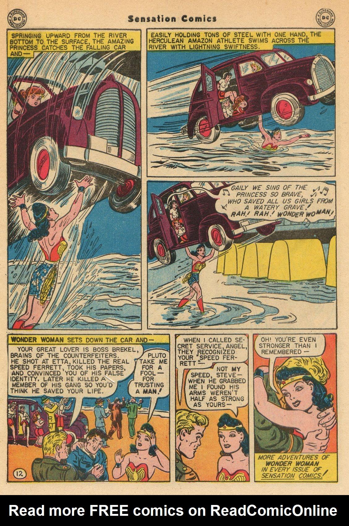 Read online Sensation (Mystery) Comics comic -  Issue #51 - 14