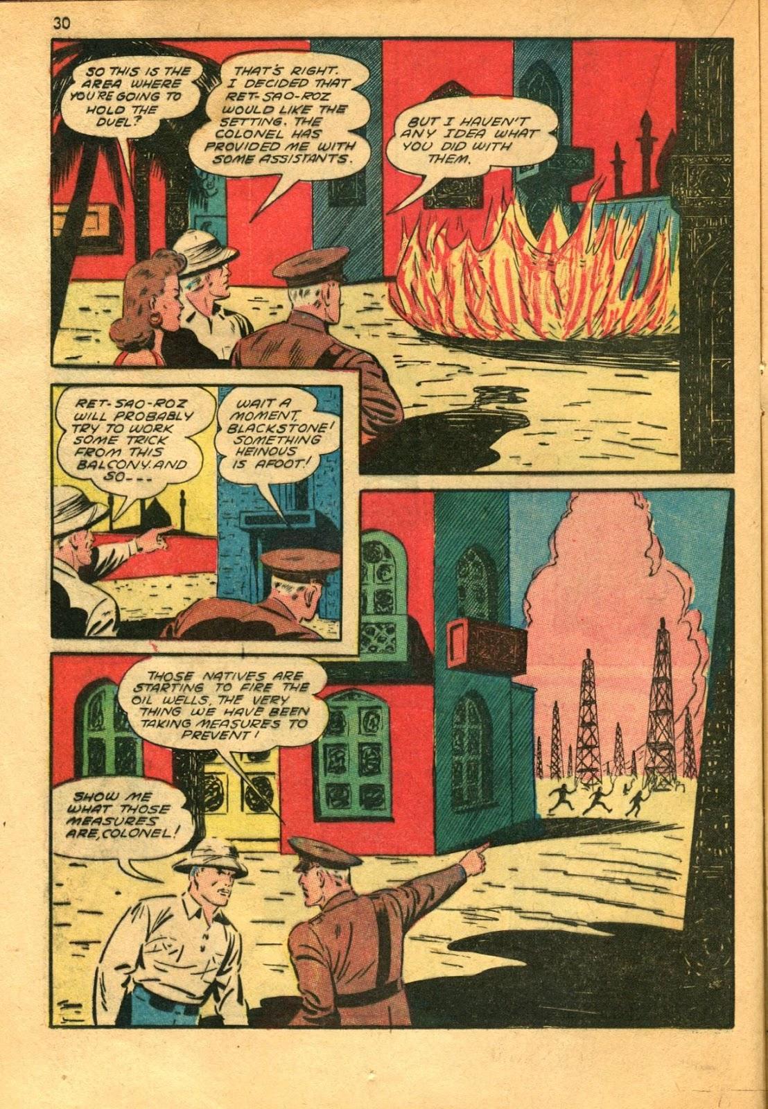 Read online Super-Magician Comics comic -  Issue #11 - 30