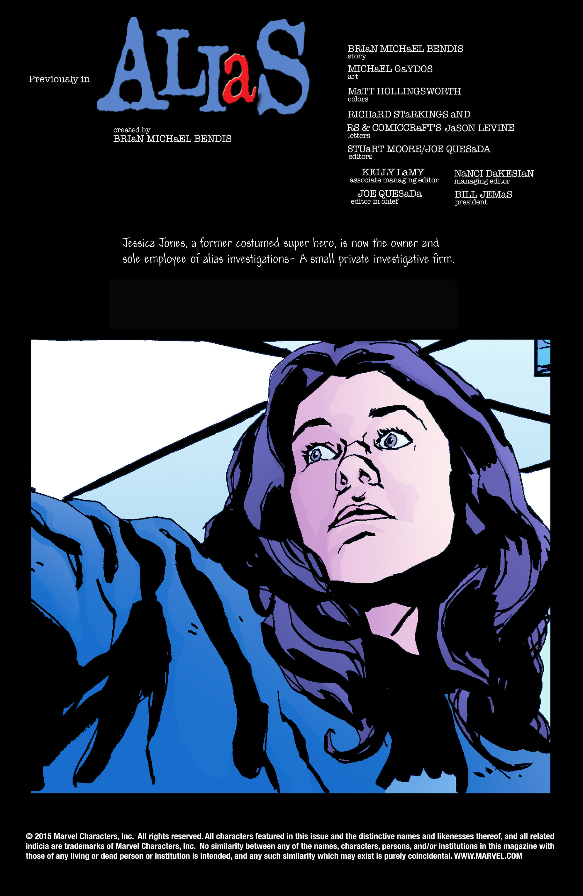 Read online Alias comic -  Issue #16 - 2