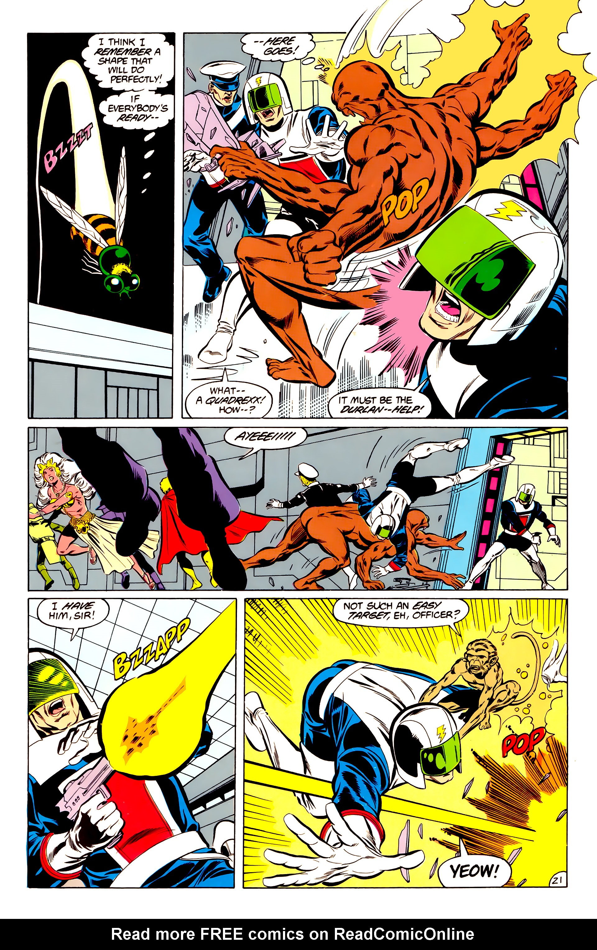 Legion of Super-Heroes (1984) 34 Page 21