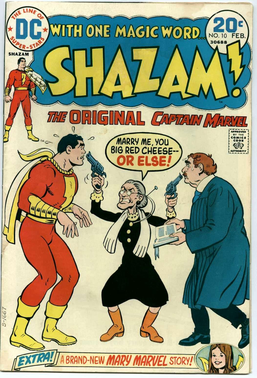 Read online Shazam! (1973) comic -  Issue #10 - 1