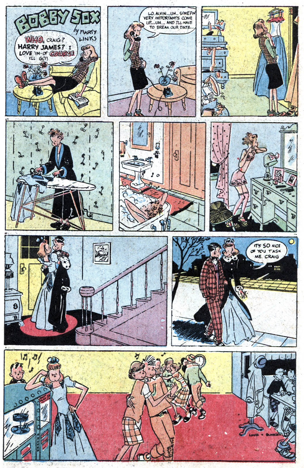 Read online Famous Funnies comic -  Issue #164 - 41